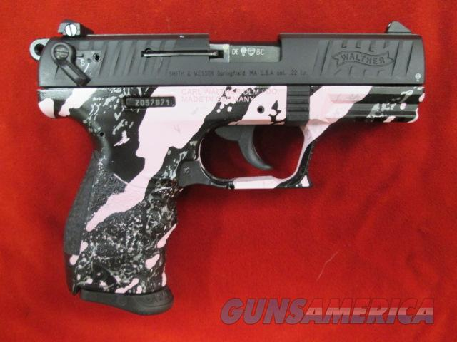 WALTHER P22 PINK TIGER STRIPE CAMO USED  Guns > Pistols > Walther Pistols > Post WWII > P22