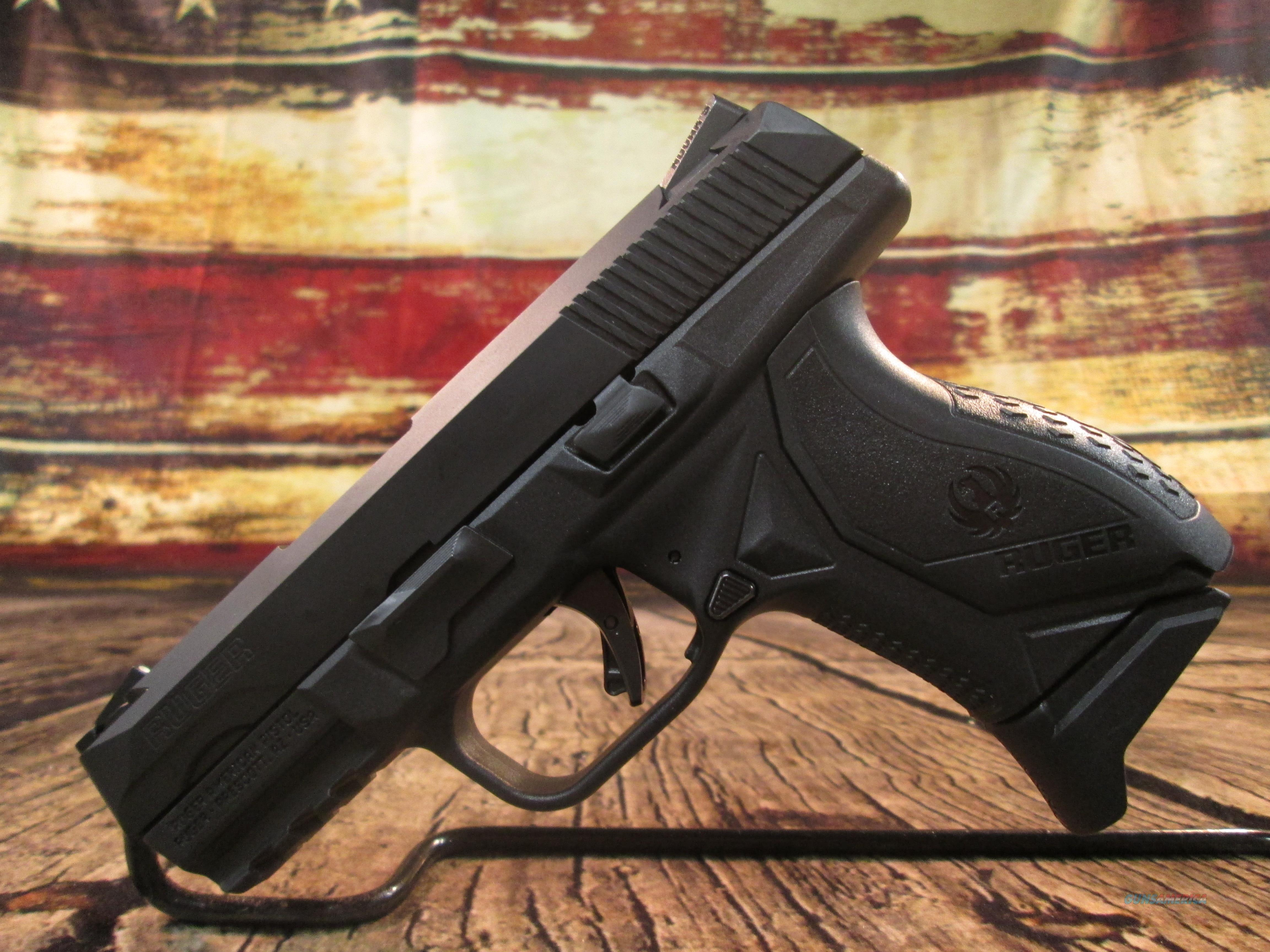 RUGER AMERICAN COMPACT 9MM USED (64064)  Guns > Pistols > Ruger Semi-Auto Pistols > American Pistol