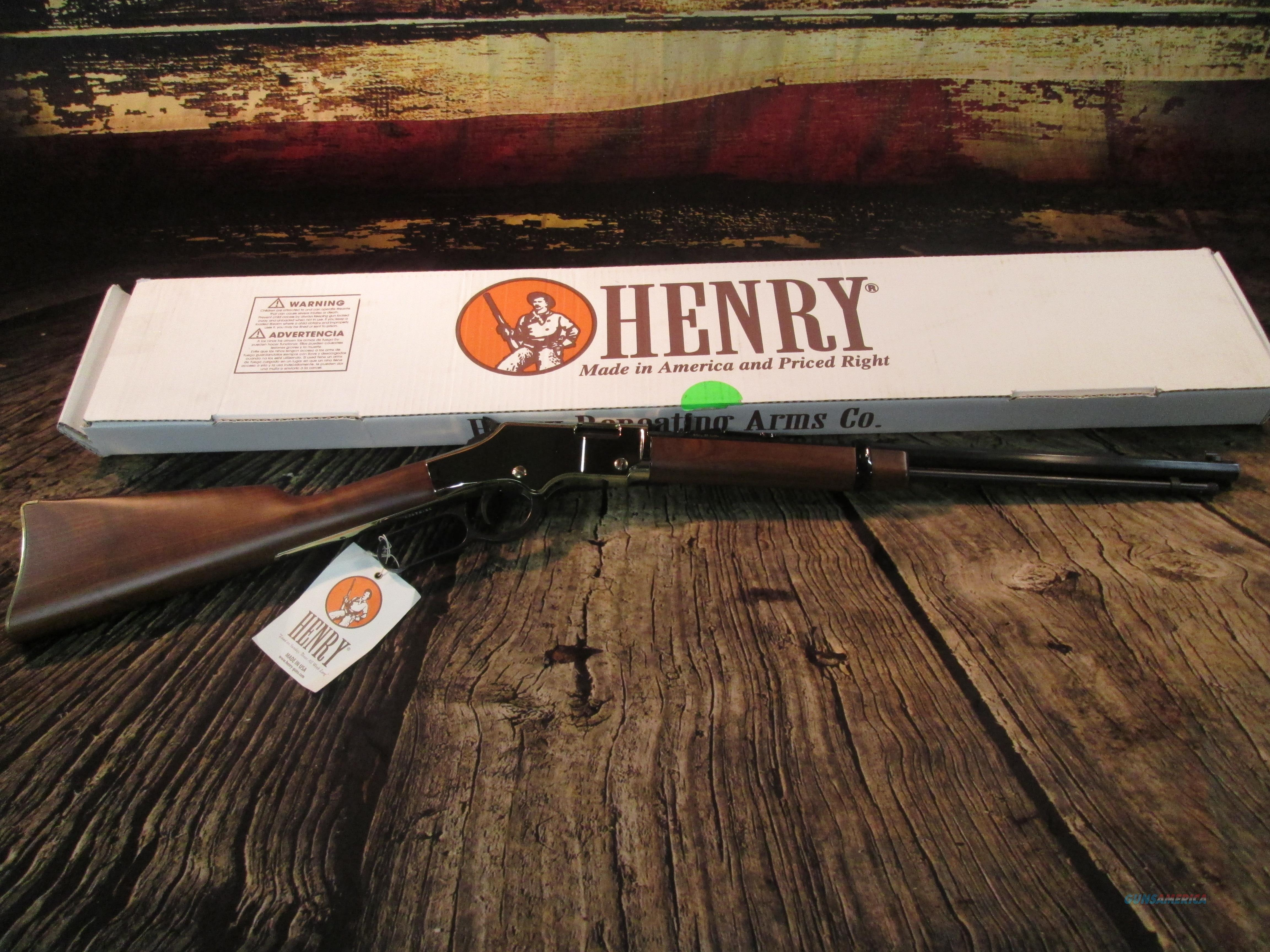 HENRY GOLDEN BOY 22 LR/L/S USED EXCELLENT CONDITION (62772)  Guns > Rifles > Henry Rifle Company