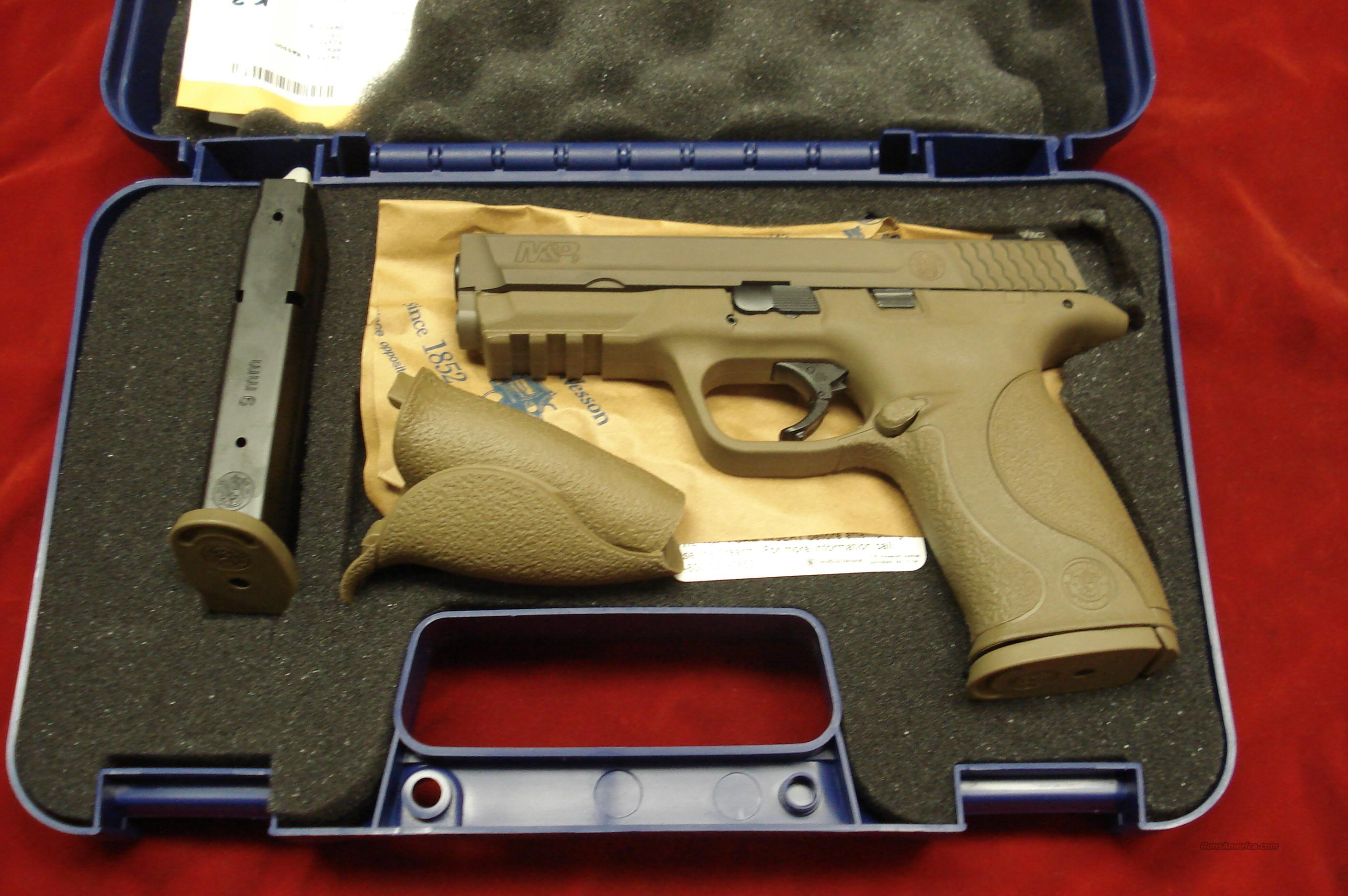 SMITH AND WESSON M&P VTAC 9MM FLAT DARK EARTH NEW  (209921)  Guns > Pistols > Smith & Wesson Pistols - Autos > Polymer Frame