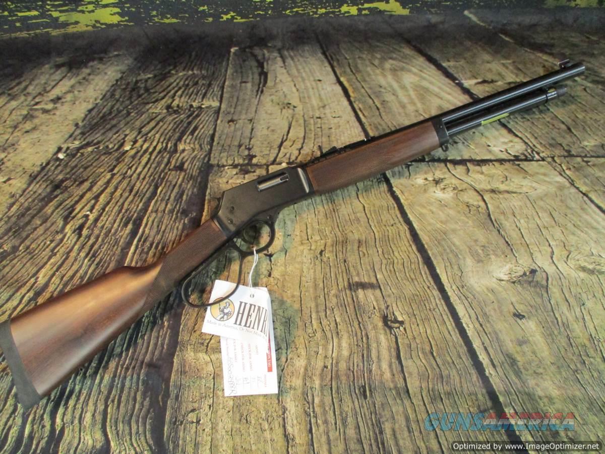 "Henry 44 Mag. Big Boy Steel 16.5"" New (H012R)  Guns > Rifles > Henry Rifle Company"