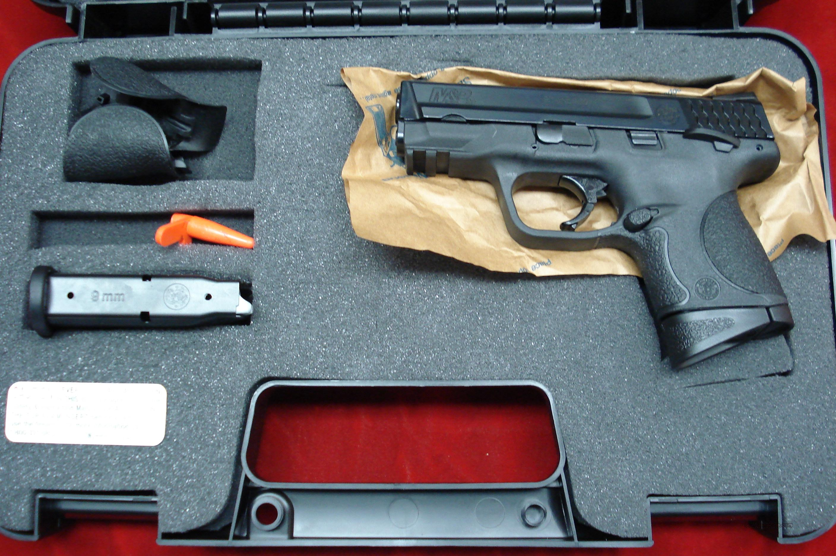 SMITH AND WESSON M&P COMPACT 9MM  AMBI. THUMB SAFETY NEW  (206304)   Guns > Pistols > Smith & Wesson Pistols - Autos > Polymer Frame