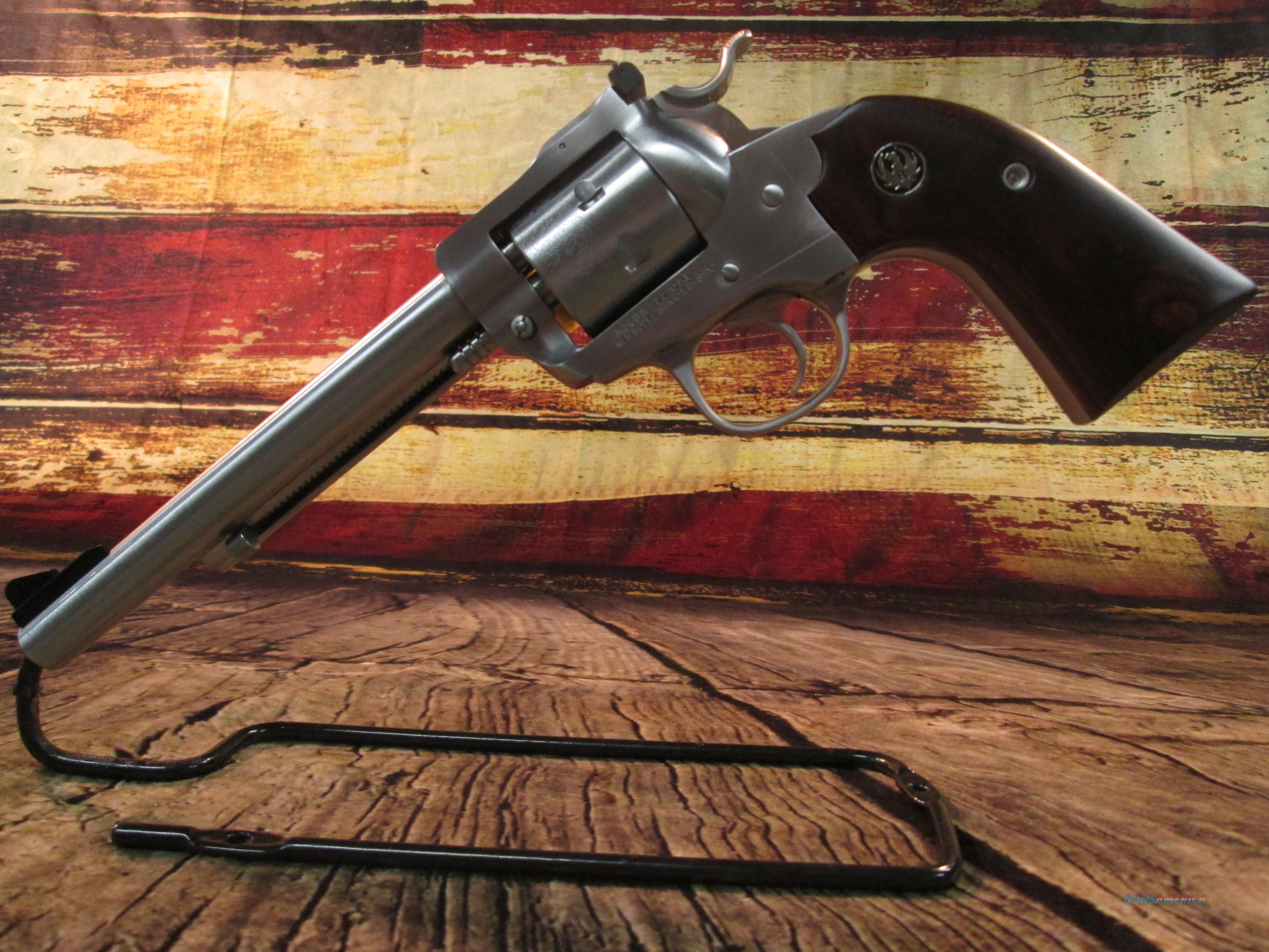 "RUGER NEW MODEL BISLEY SINGLE SIX .22 LR 6.5"" STAINLESS BARREL (00680)   Guns > Pistols > Ruger Single Action Revolvers > Single Six Type"