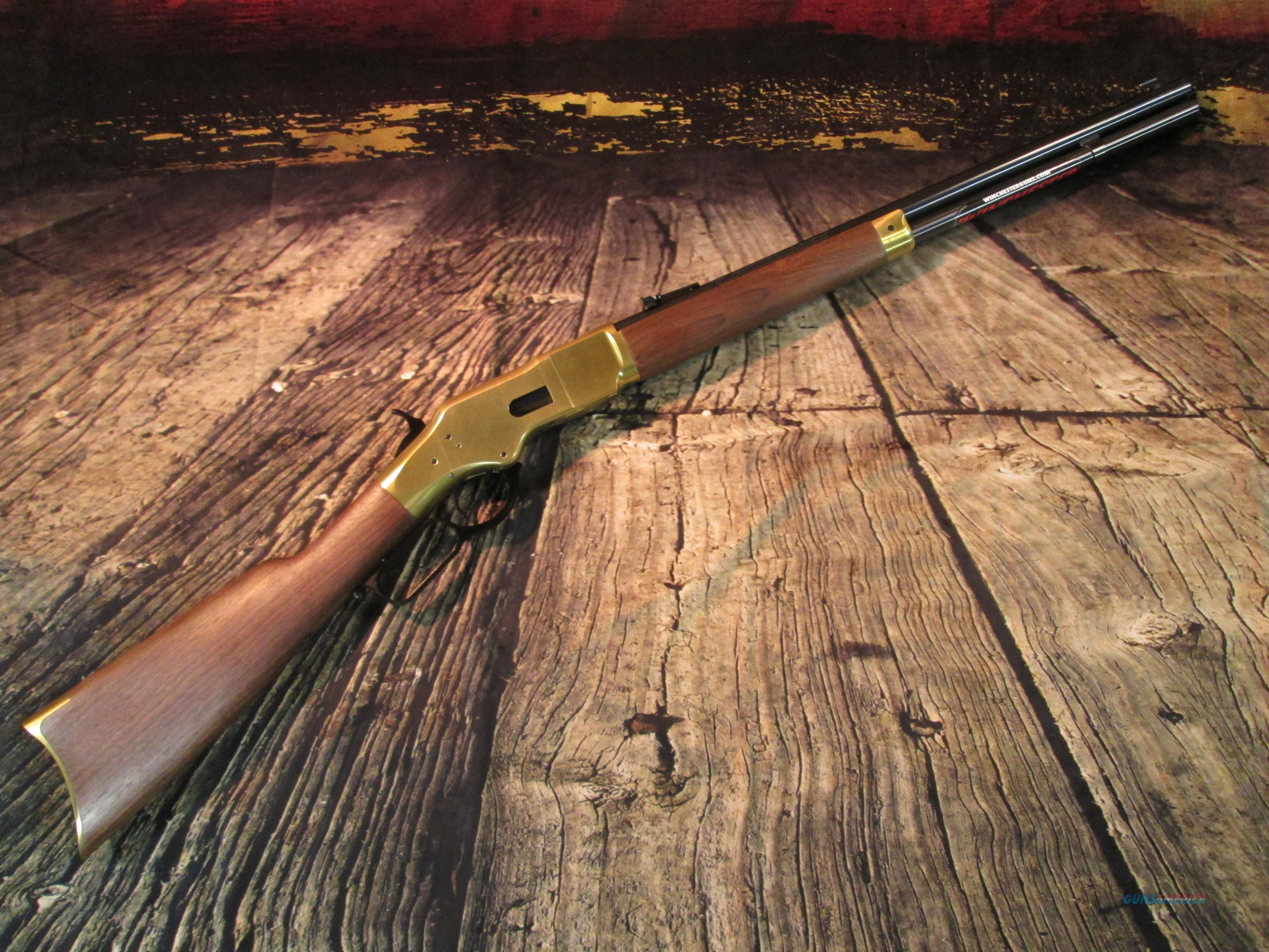 "WINCHESTER 1886 SHORT YELLOW BOY LEVER 44-40 20"" (534224140)  Guns > Rifles > Winchester Rifles - Modern Lever > Other Lever > Post-64"