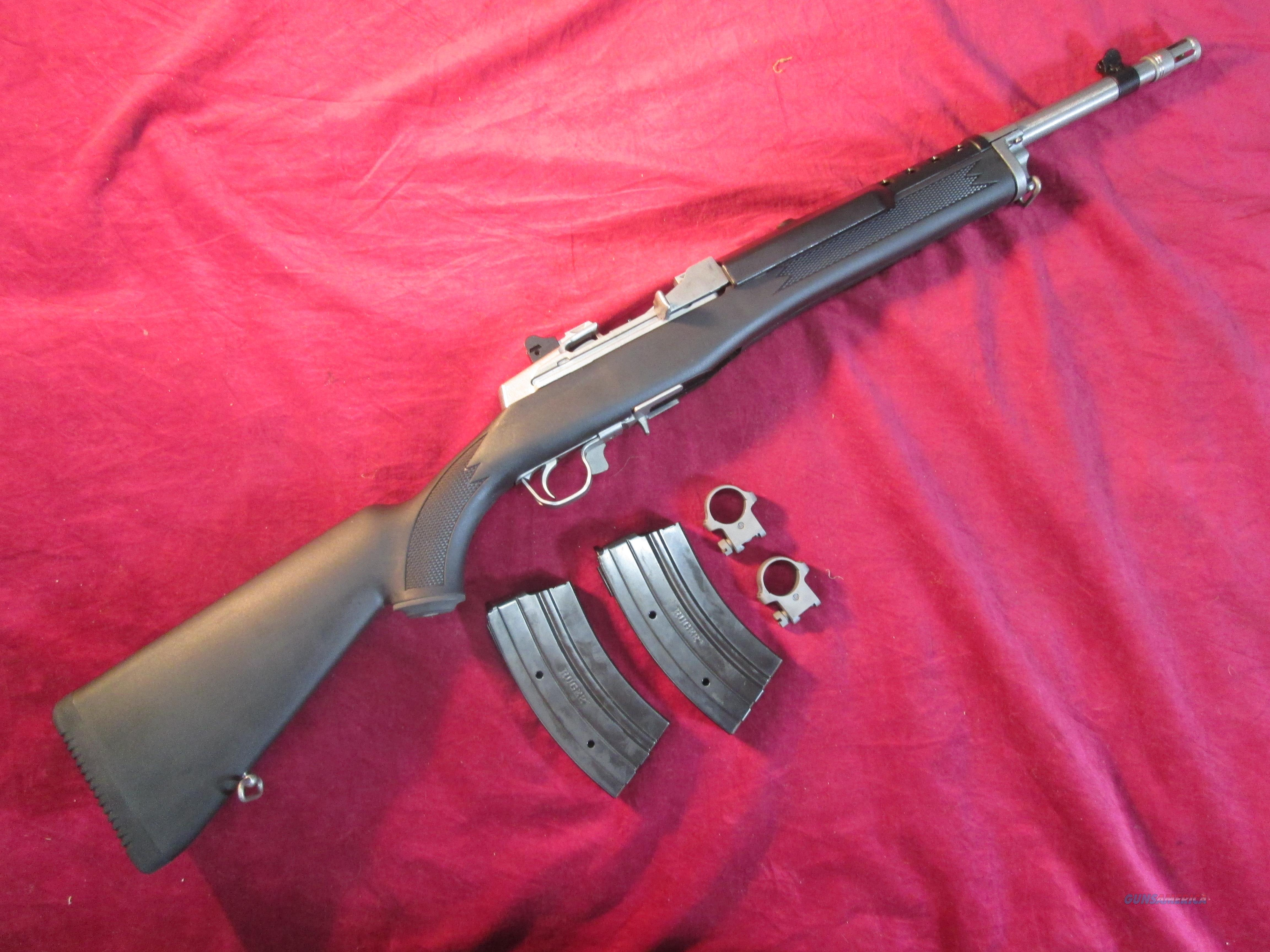 RUGER ALL WEATHER MINI 30 STAINLESS RANCH 7.62X39 CAL. W/ FLASH HIDER NEW   Guns > Rifles > Ruger Rifles > Mini-14 Type