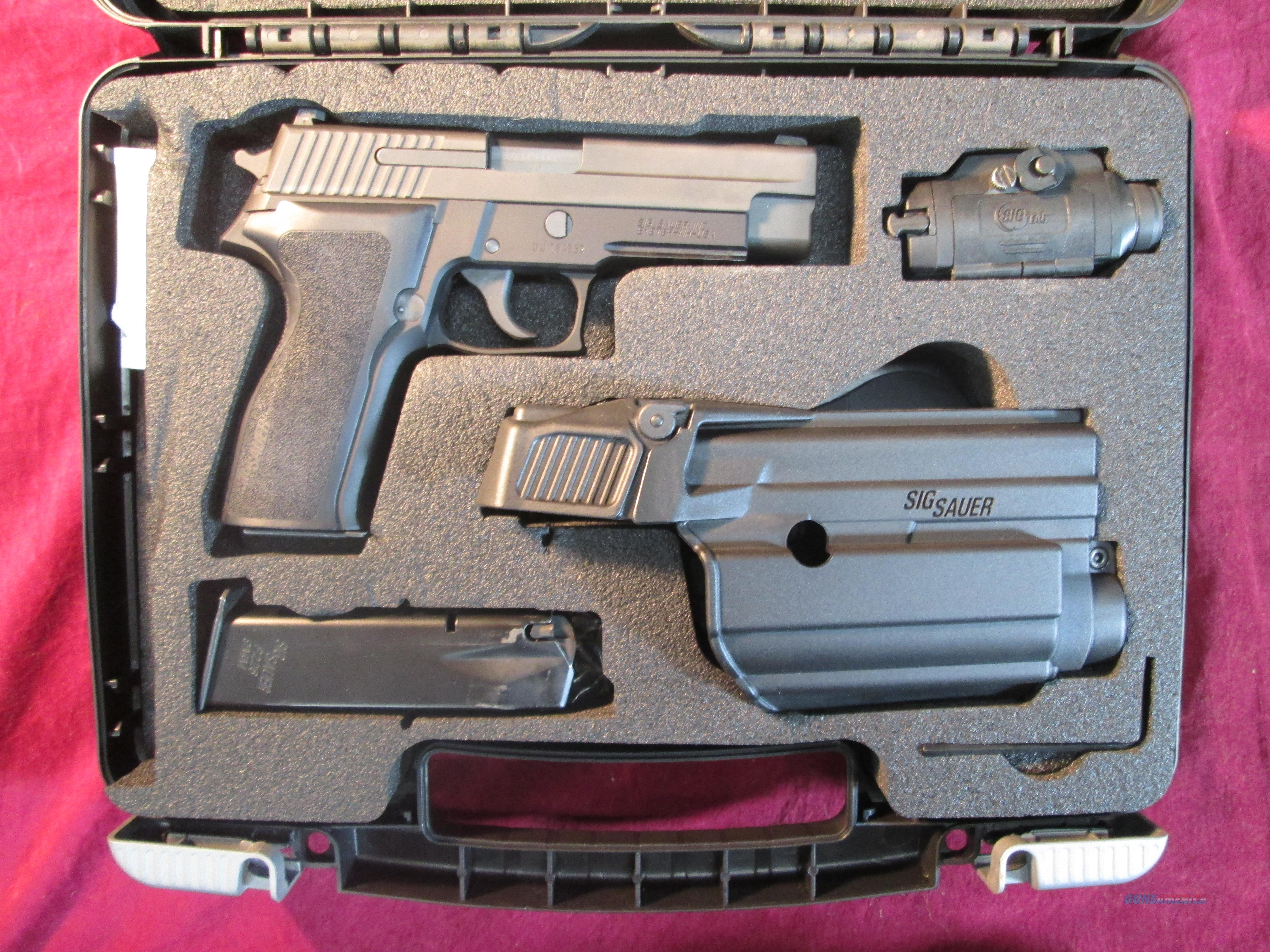 SIG SAUER P226 9MM TAC PAC W/ LASER LIGHT USED  Guns > Pistols > Sig - Sauer/Sigarms Pistols > P226