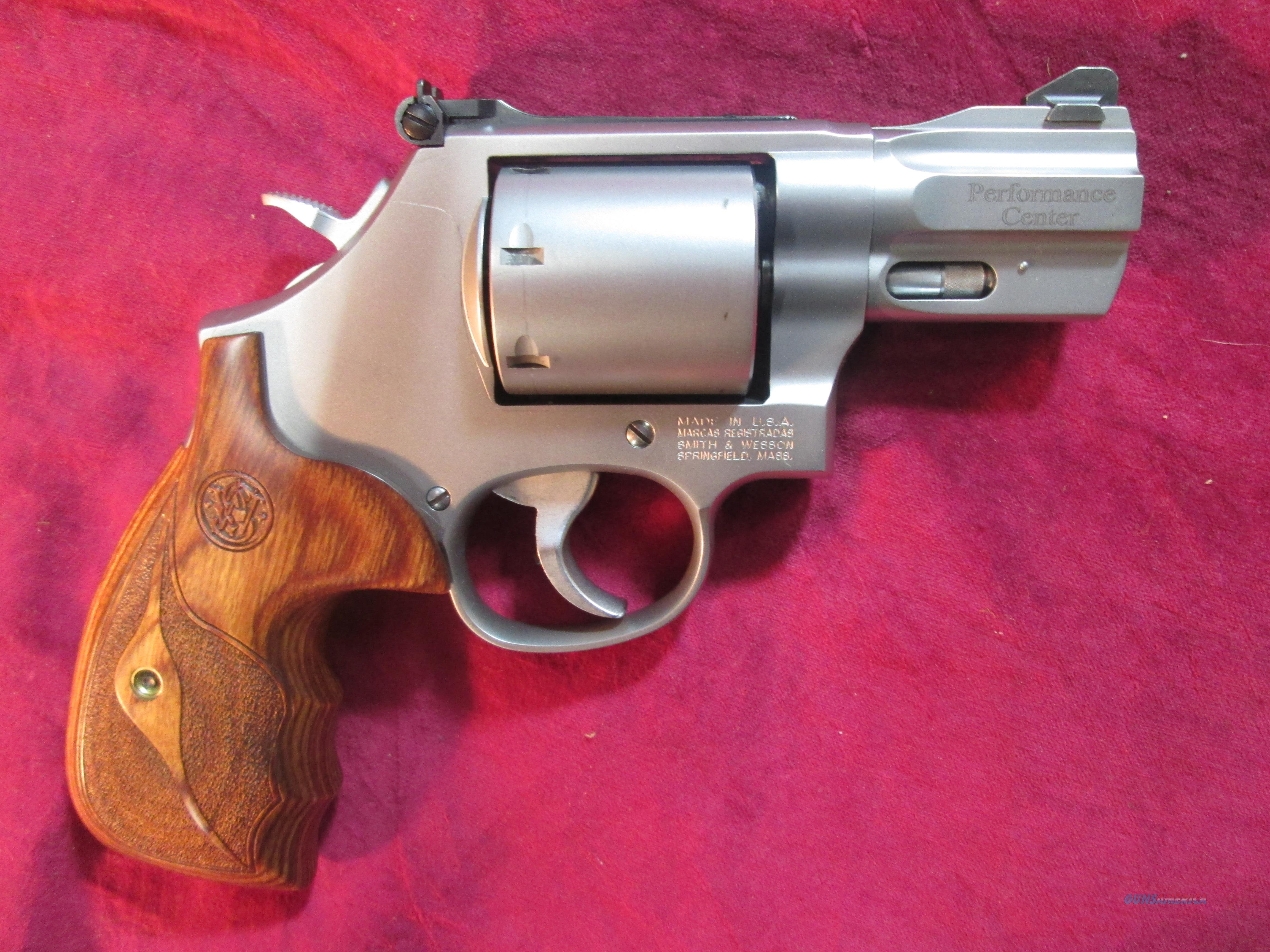 "SMITH AND WESSON PERFORMANCE CENTER 686 357MAG CAL, STAINLESS 2.5"" BARREL USED  Guns > Pistols > Smith & Wesson Revolvers > Full Frame Revolver"