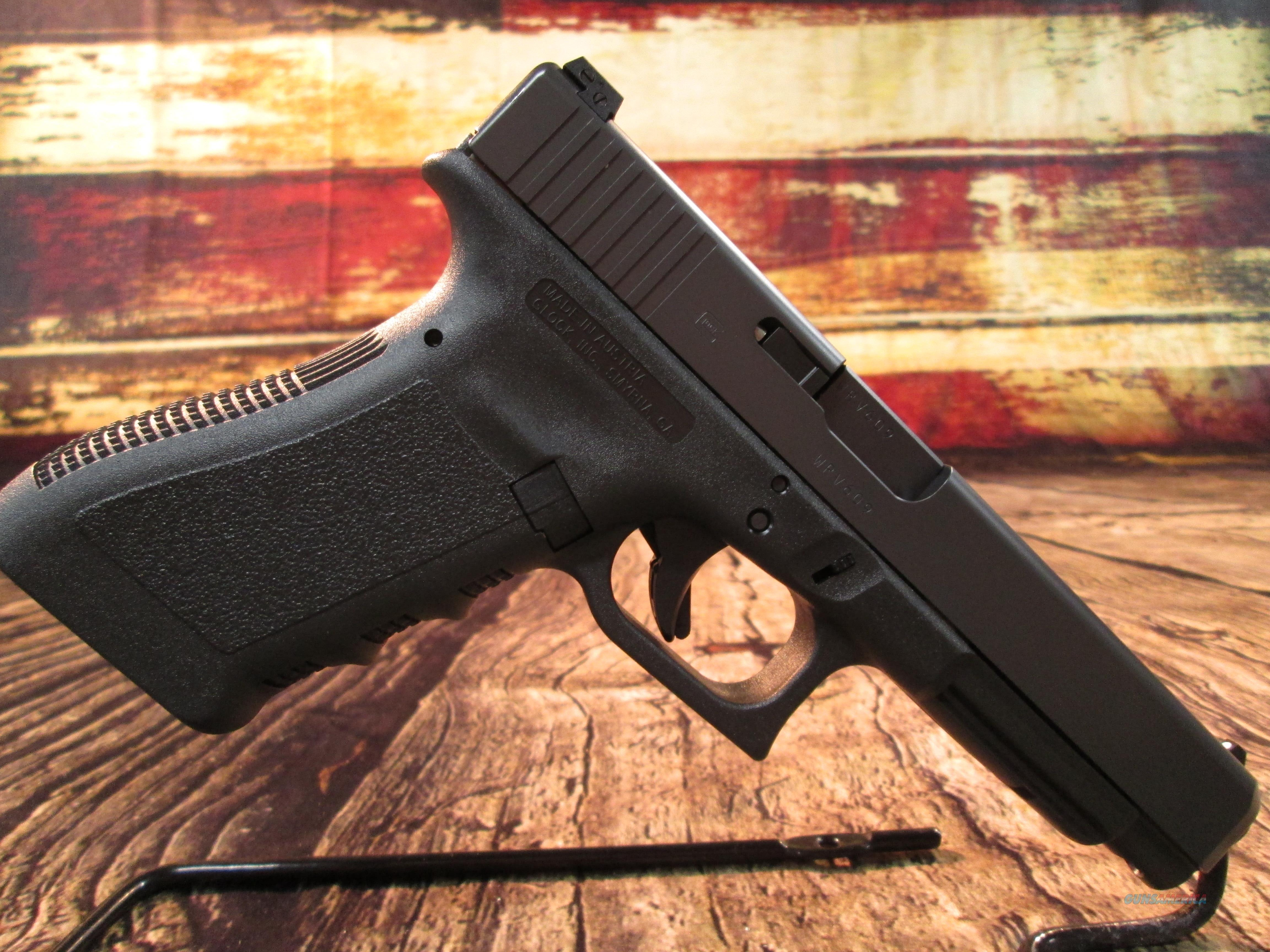 GLOCK MODEL 35 GEN 3 TACTICAL PRACTICAL 40 CAL NEW (PI3530103)  Guns > Pistols > Glock Pistols > 35
