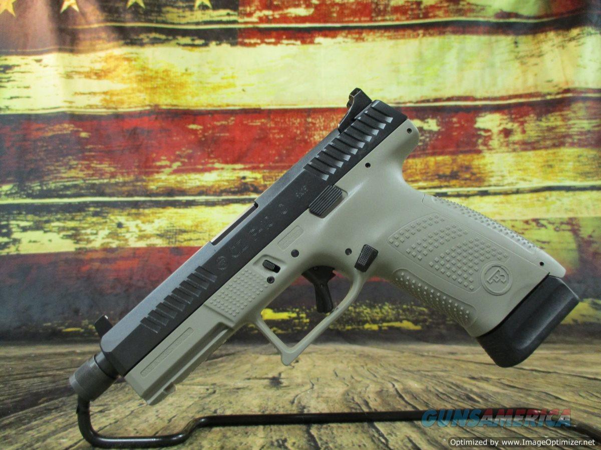 "CZ P-10 Compact 9mm 4.61"" Suppressor Ready 17+1 NEW (91519)  Guns > Pistols > CZ Pistols"