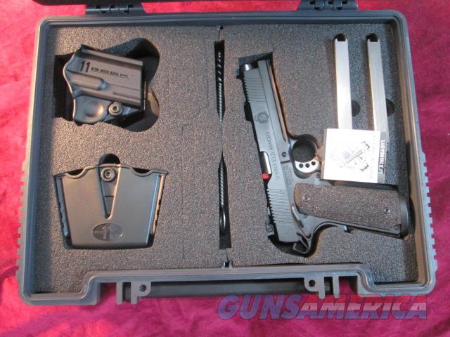 SPRINGFIELD ARMORY TRP OPERATOR BLACK ARMORY KOTE W/ FULL LENGTH RAIL 45ACP NEW (PC9105LCA)  Guns > Pistols > Springfield Armory Pistols > 1911 Type