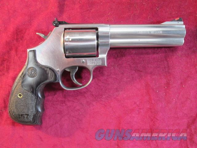 "SMITH AND WESSON MODEL 686 DELUXE 5"" 357MAG STAINLESS NEW   (150854)   Guns > Pistols > Smith & Wesson Revolvers > Full Frame Revolver"