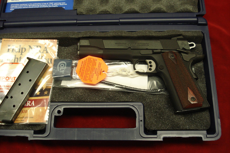 COLT LIGHTWEIGHT GOV'T. MODEL 1911 ENHANCED SERIES BLUE 45ACP (O1880XSE)  NEW  Guns > Pistols > Colt Automatic Pistols (1911 & Var)