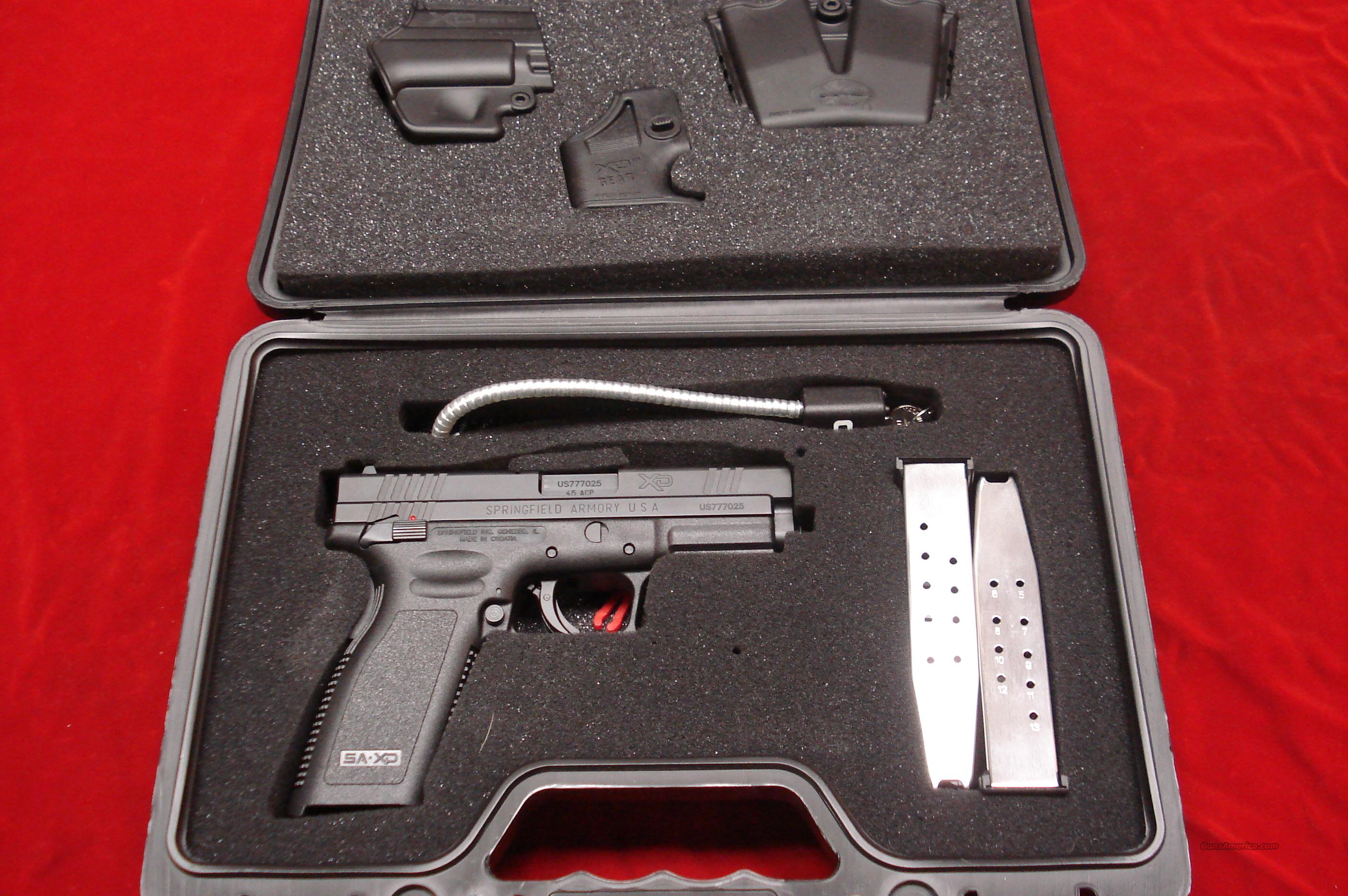 SPRINGFIELD ARMORY XD 45ACP HIGH CAP PACKAGE (THUMB SAFETY) LIKE NEW IN THE BOX   Guns > Pistols > Springfield Armory Pistols > XD (eXtreme Duty)