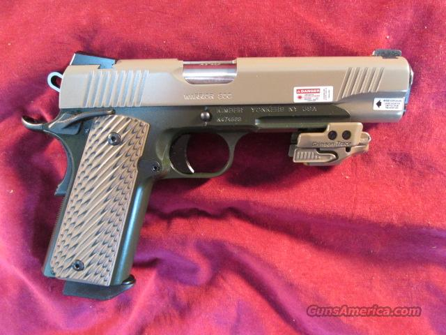 KIMBER WARRIOR SOC 45ACP W/ NIGHT SIGHTS AND CRIMSON TRACE LASER NEW  (3000286)    Guns > Pistols > Kimber of America Pistols