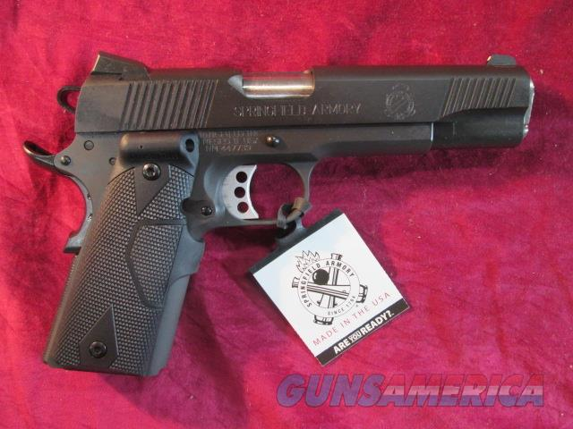 SPRINGFIELD ARMORY 1911 45ACP LOADED PARKERIZED W/ CRIMSON TRACE LASER GRIPS NEW (PI9109LPCT)     Guns > Pistols > Springfield Armory Pistols > 1911 Type