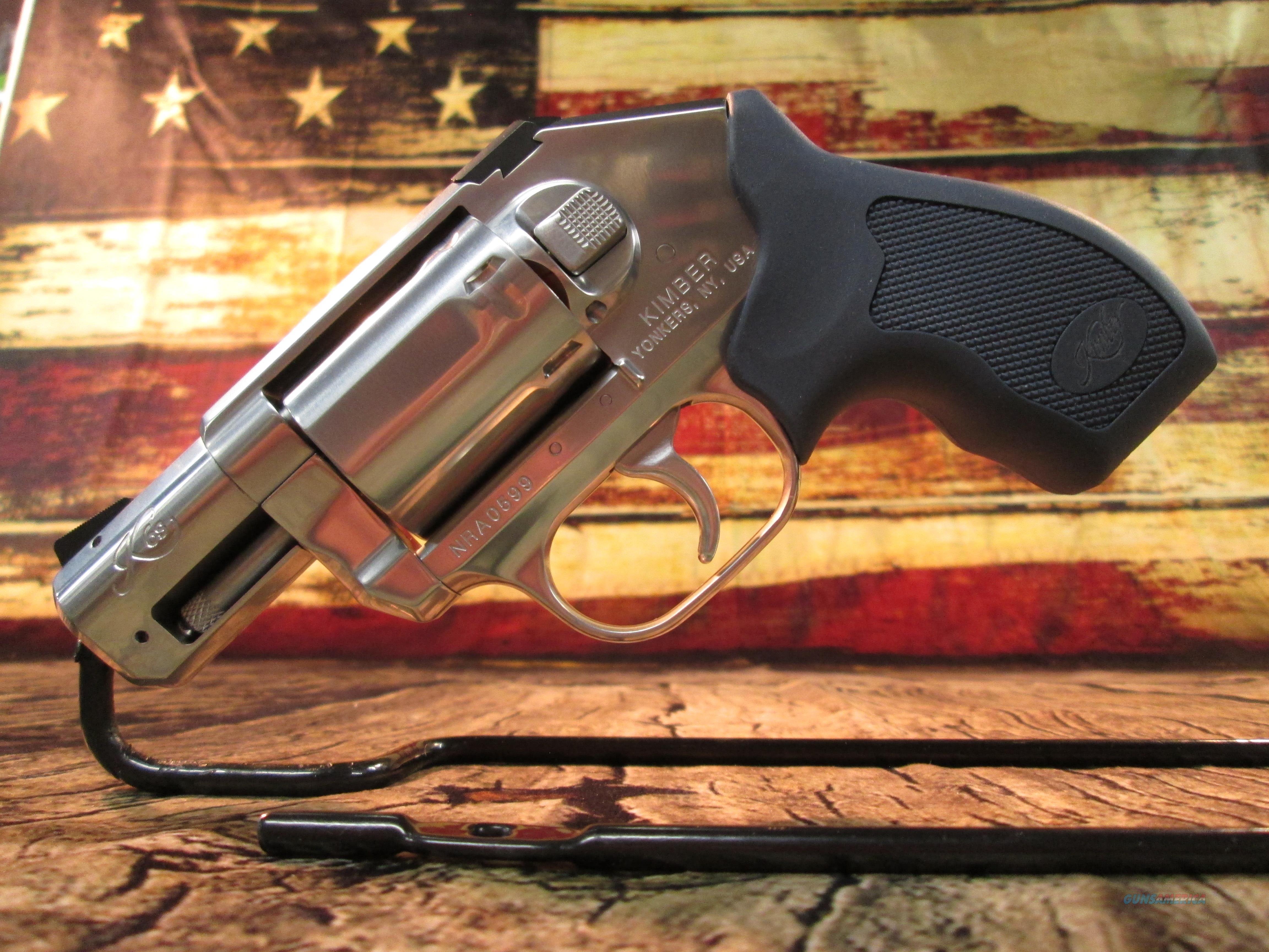 KIMBER K6S 357 MAGNUM 6 SHOT NEW  (NRA SERIAL NUMBER)  Guns > Pistols > Kimber of America Pistols > Revolvers
