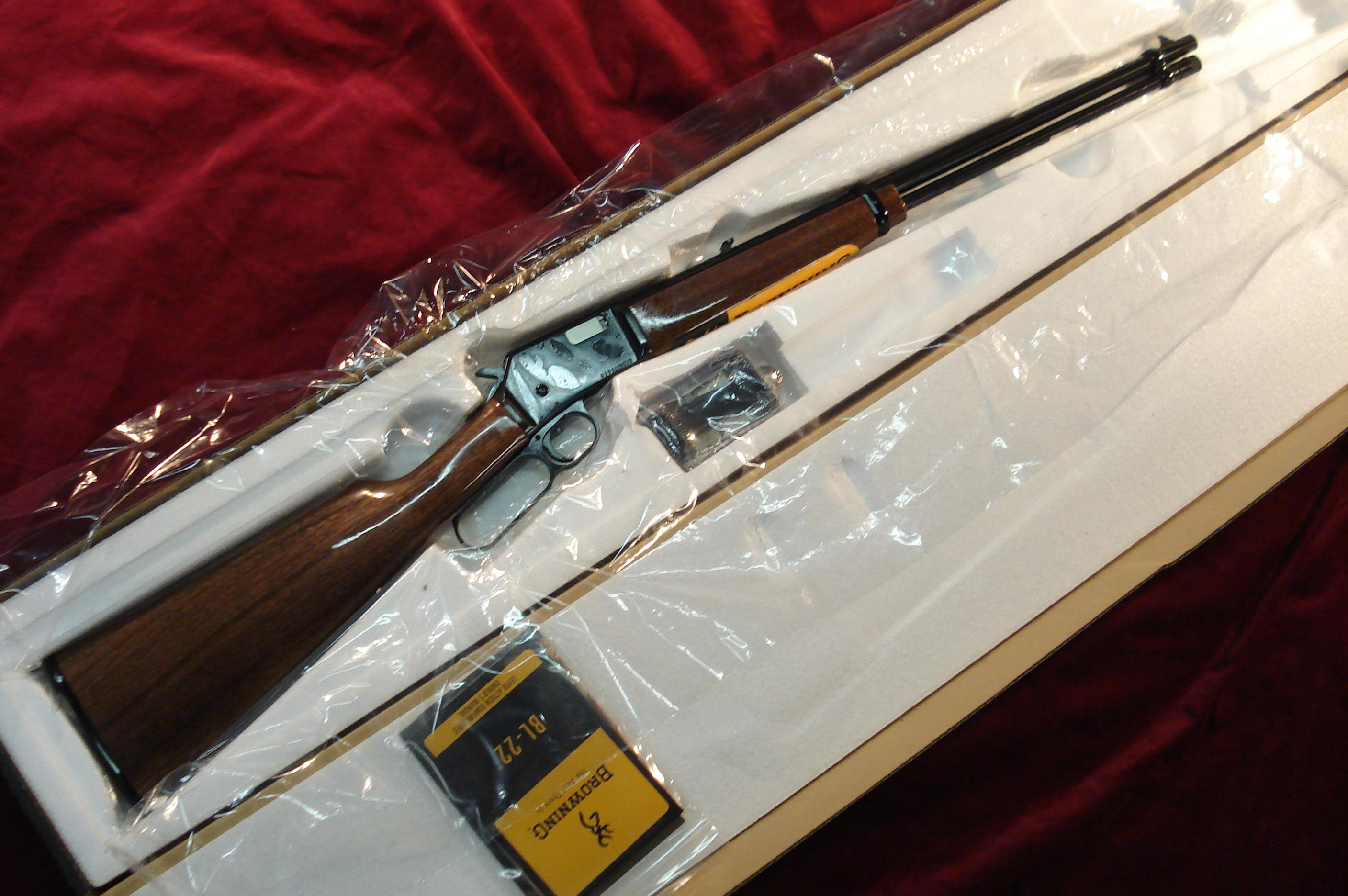 BROWNING BL-22 GRADE I NEW  (024100103)   Guns > Rifles > Browning Rifles > Lever Action