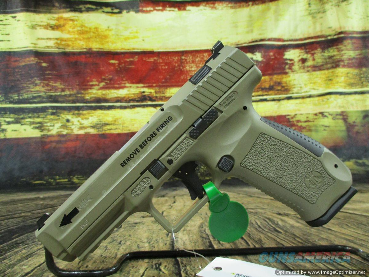 Century Arms TP9SA Mod.2 9mm Desert Tan Cerakote New 9mm 18+1 (HG4542DN)  Guns > Pistols > Canik USA Pistols