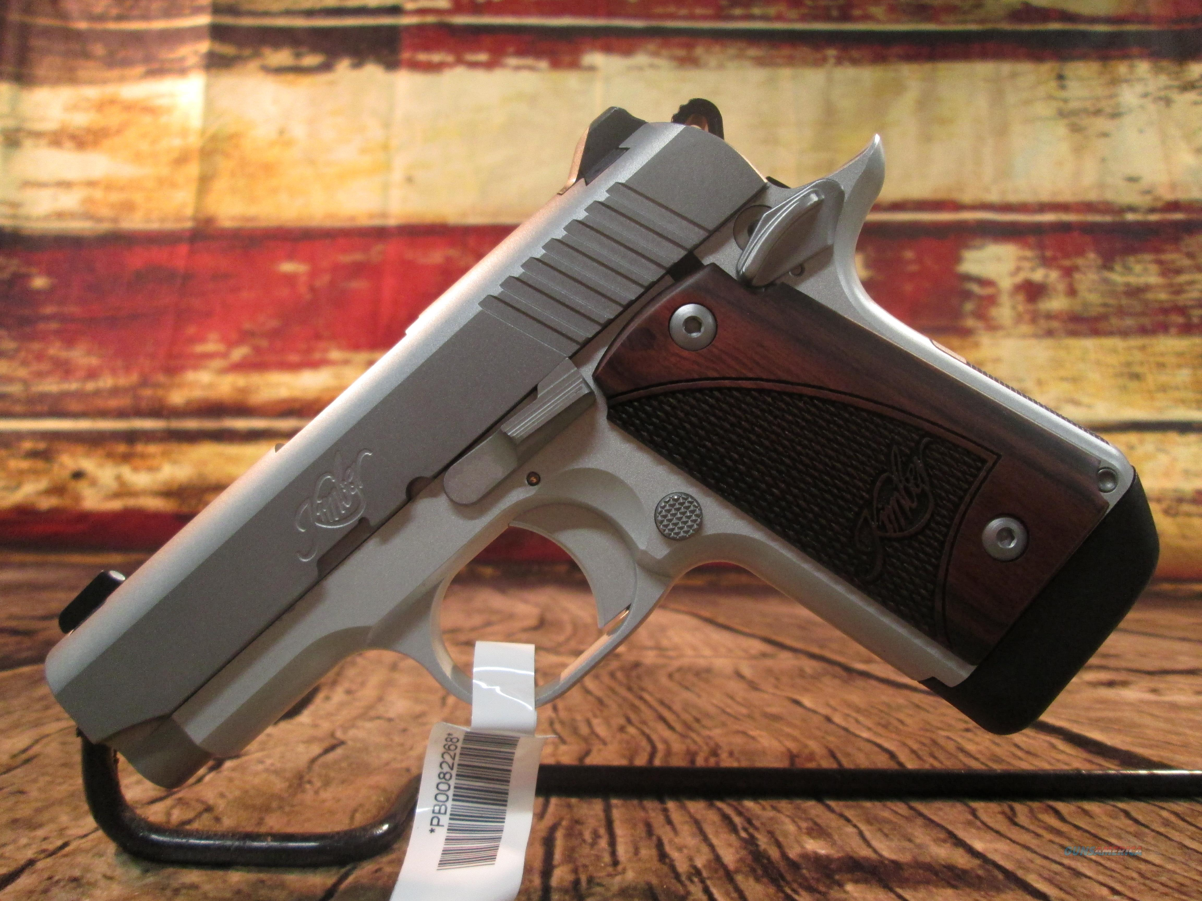KIMBER MICRO 9 STAINLESS W/ ROSEWOOD GRIPS NEW (3300158)  Guns > Pistols > Kimber of America Pistols > Micro 9