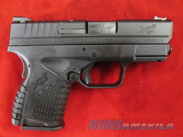 SPRINGFIELD ARMORY XDS ESSENTIALS PACKAGE 9MM NEW   (XDS9339BE)   Guns > Pistols > Springfield Armory Pistols > XD-S