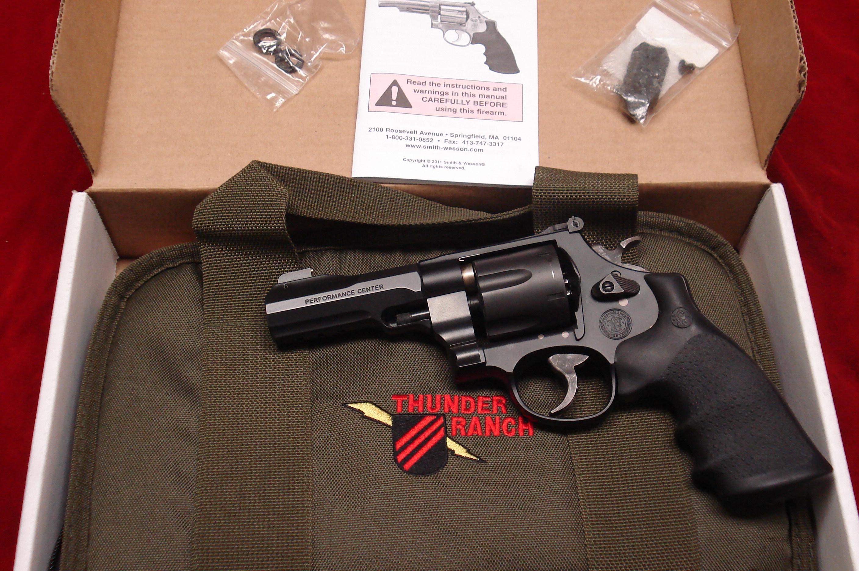 "SMITH AND WESSON MODEL 325 THUNDER RANCH PERFORMANCE CENTER 45ACP 4"" LIKE NEW  Guns > Pistols > Smith & Wesson Revolvers > Performance Center"