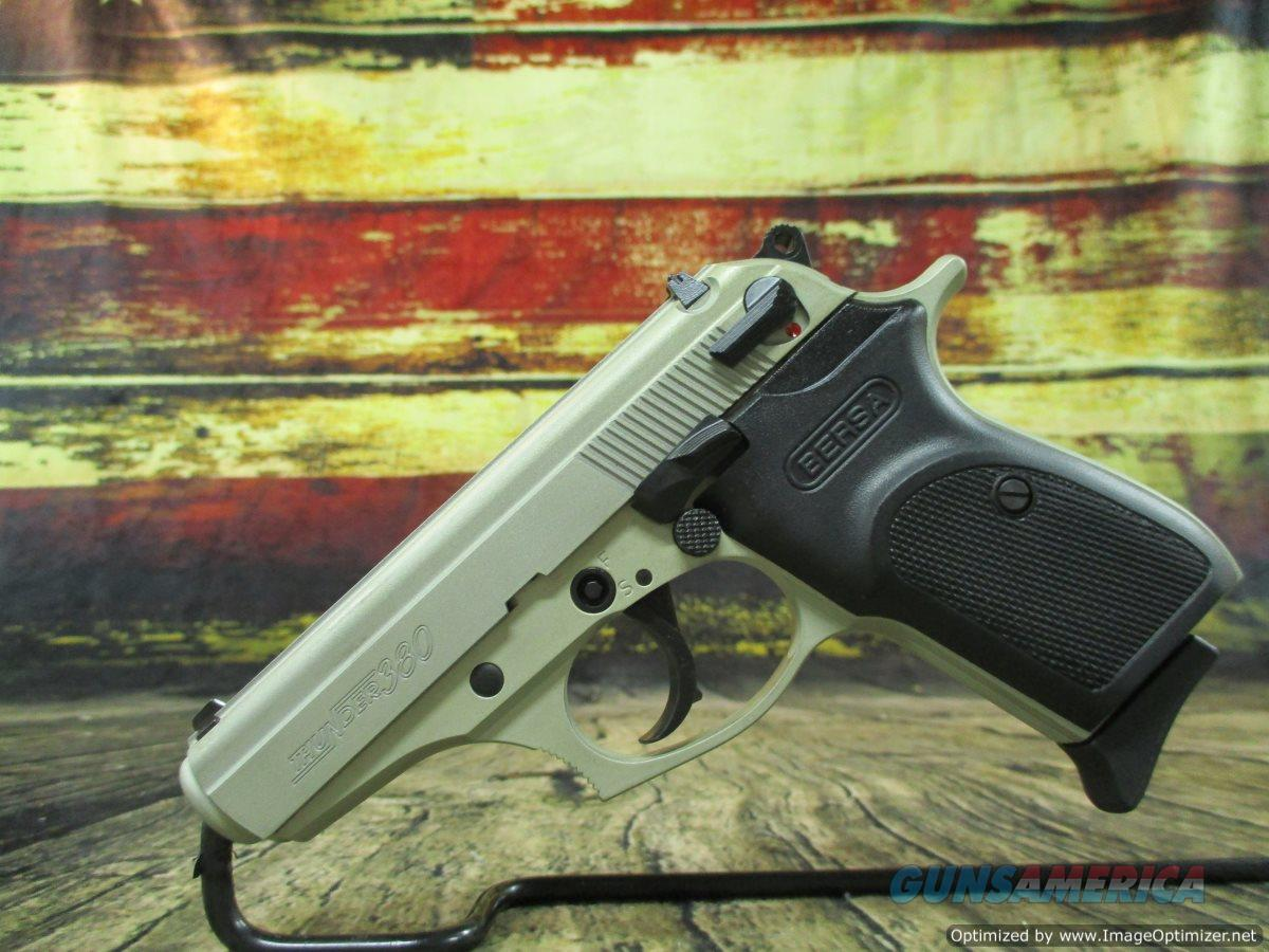 "Bersa Thunder 380 Nickel Cerakote 3.5"" 380acp (T380NKL8)  Guns > Pistols > Bersa Pistols"