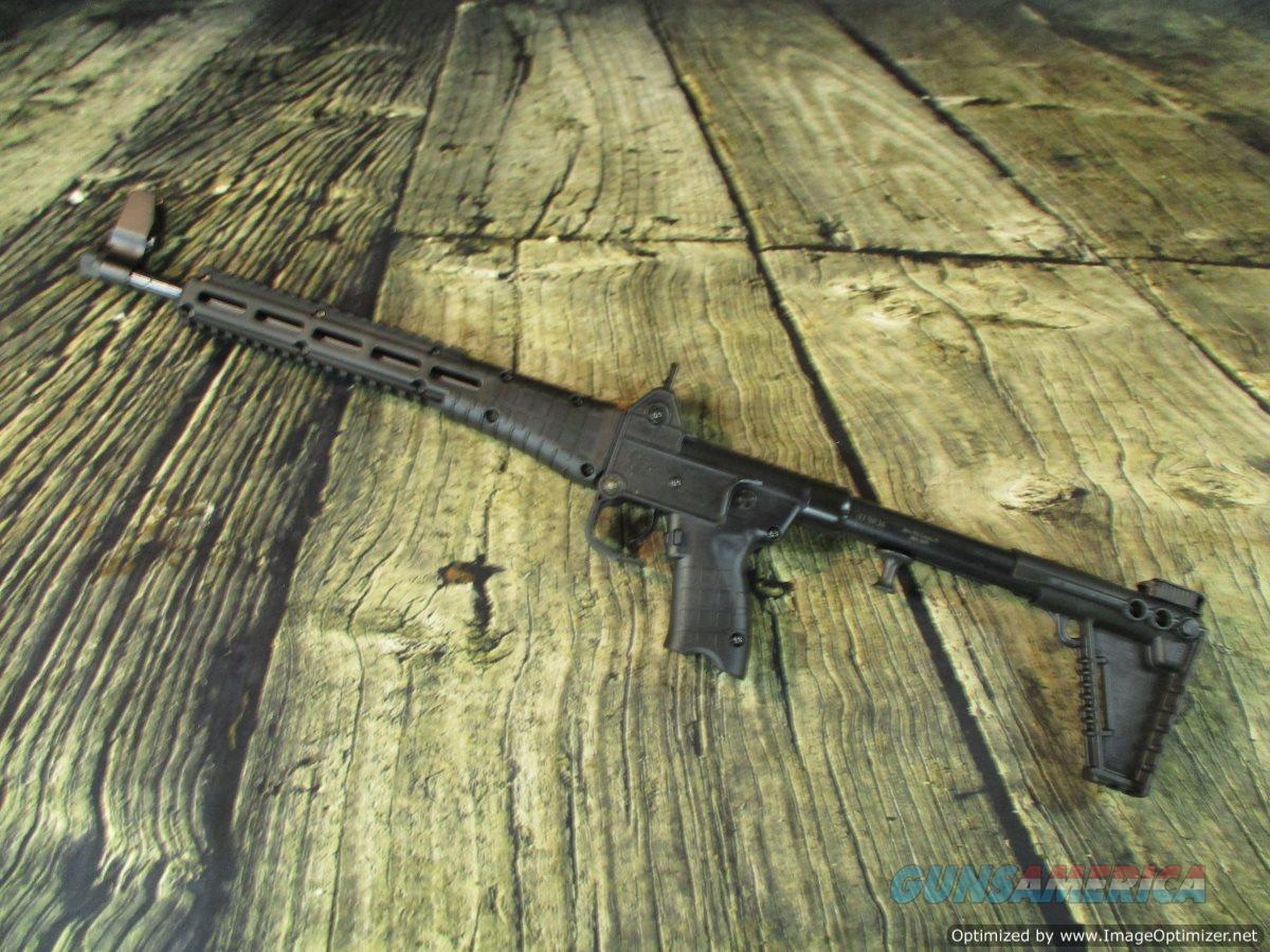 """Kel Tec SUB2K 9MM W/ Glock Magazines 16.25"""" New (SUB2K9GLK17B)  Guns > Rifles > Kel-Tec Rifles"""