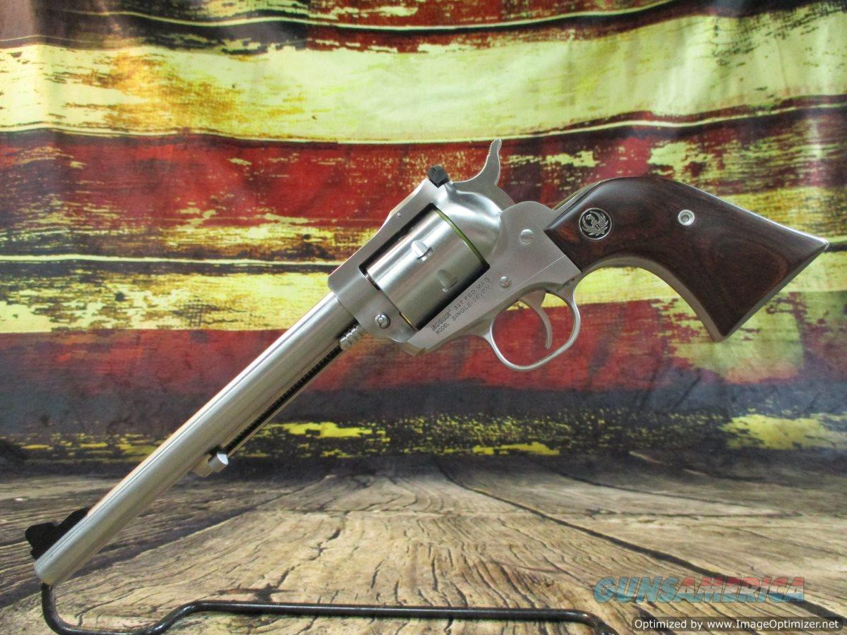 "Ruger 327 Fed. Single Seven 7.5"" Stainless NEW (08162)  Guns > Pistols > Ruger Single Action Revolvers > Single Six Type"
