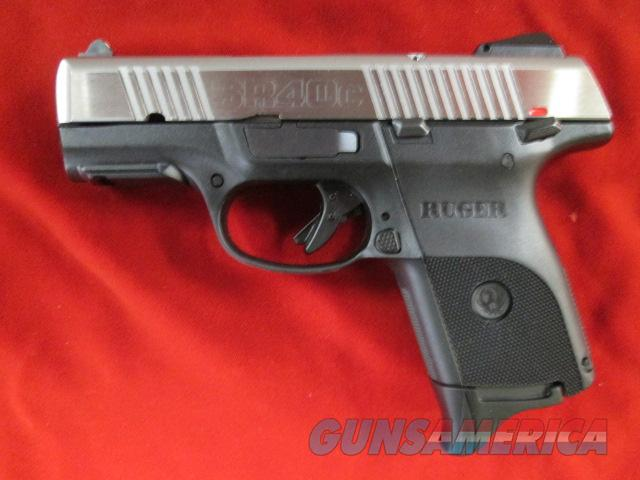 RUGER SR40C (COMPACT) STAINLESS USED  Guns > Pistols > Ruger Semi-Auto Pistols > SR Family > SR40C