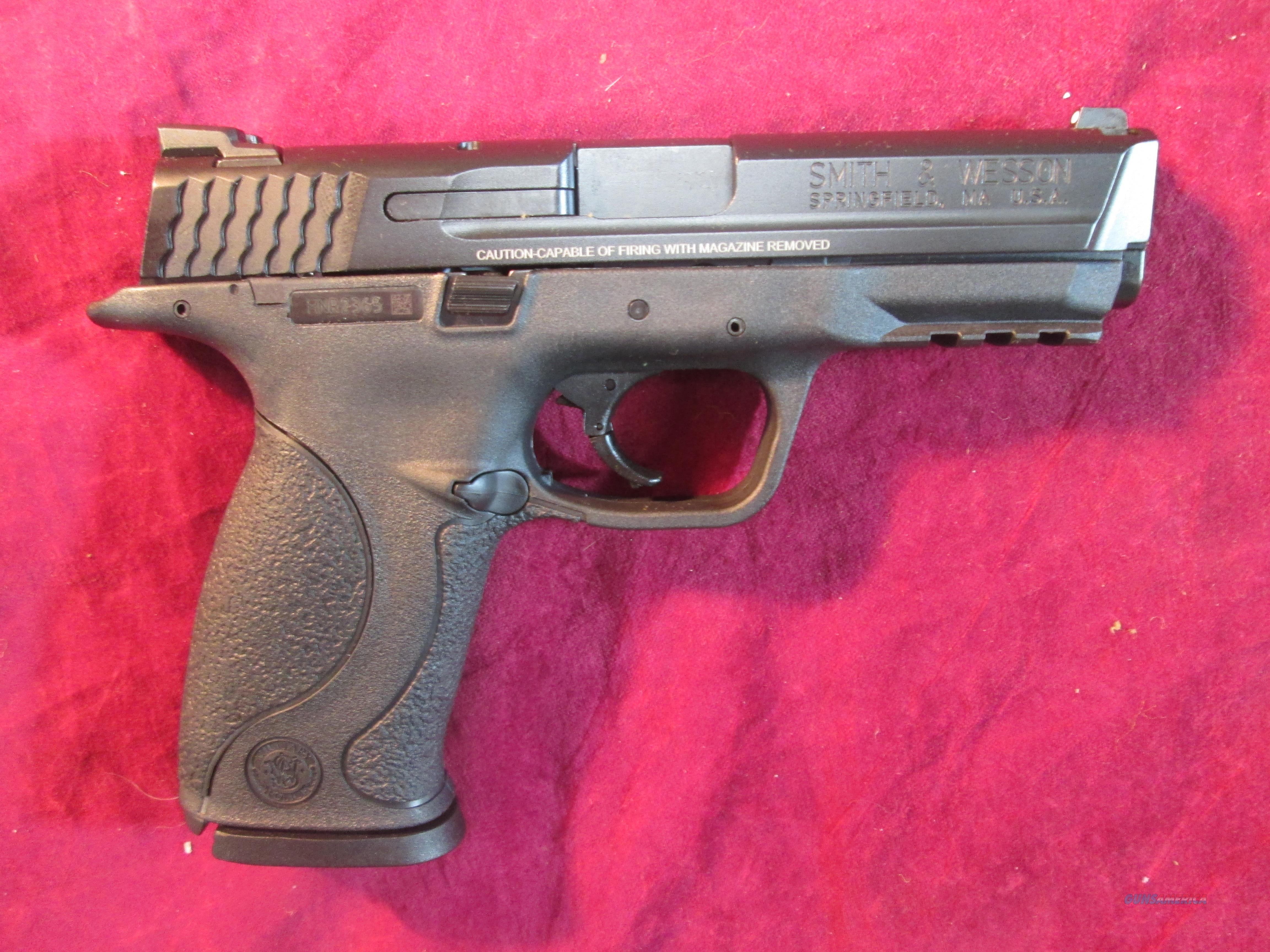 SMITH AND WESSON M&P 9 W/ EXTRA THREADED BARREL NEW (150922)   Guns > Pistols > Smith & Wesson Pistols - Autos > Polymer Frame