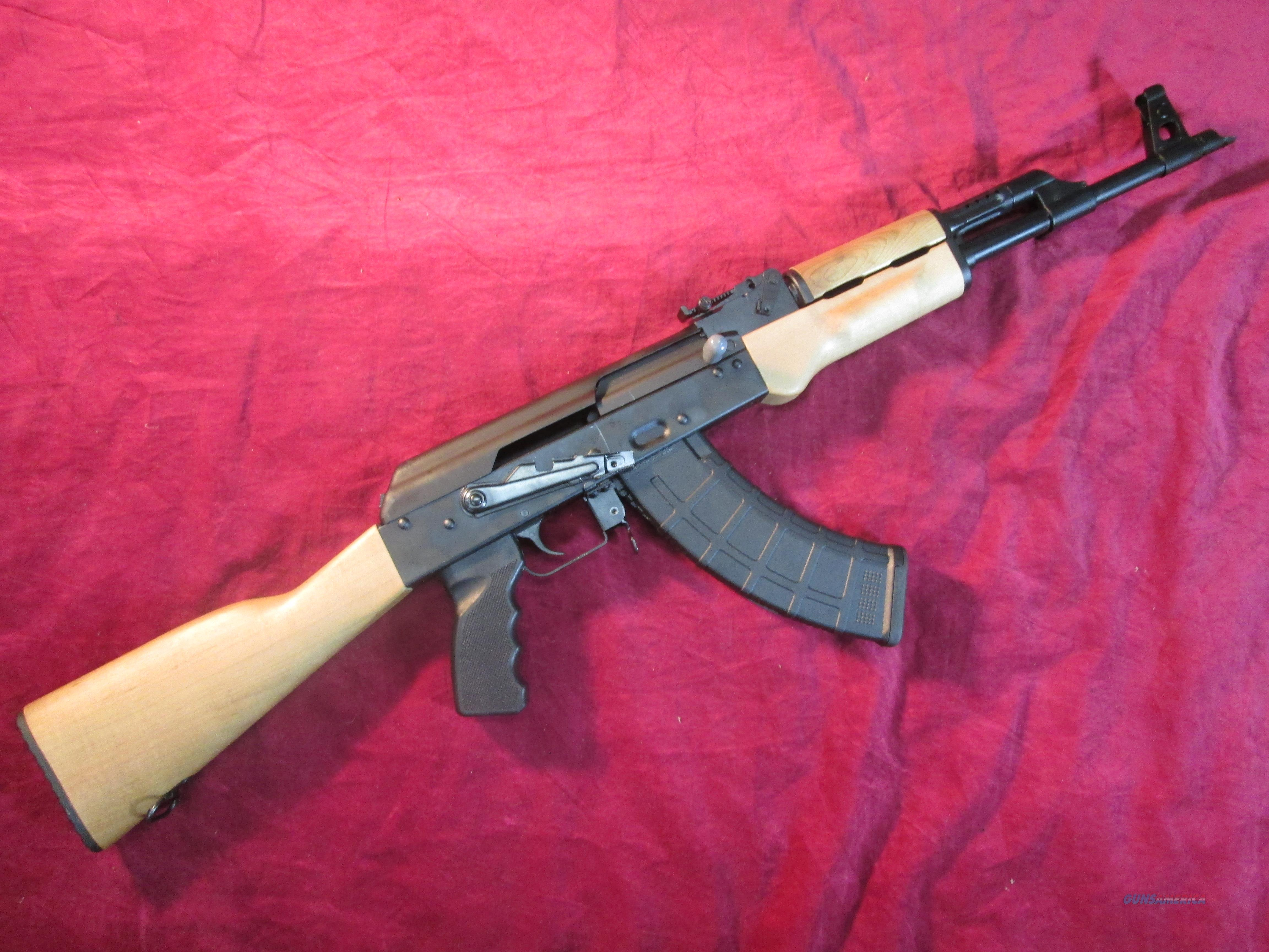 CENTURY ARMS RAS-47 AK RIFLE 7.62X39 W/ HARD WOOD FURNITURE NEW (RI2403-N)  ***$50 factory mail in rebate through 8/10/17 ***  Guns > Rifles > AK-47 Rifles (and copies) > Full Stock