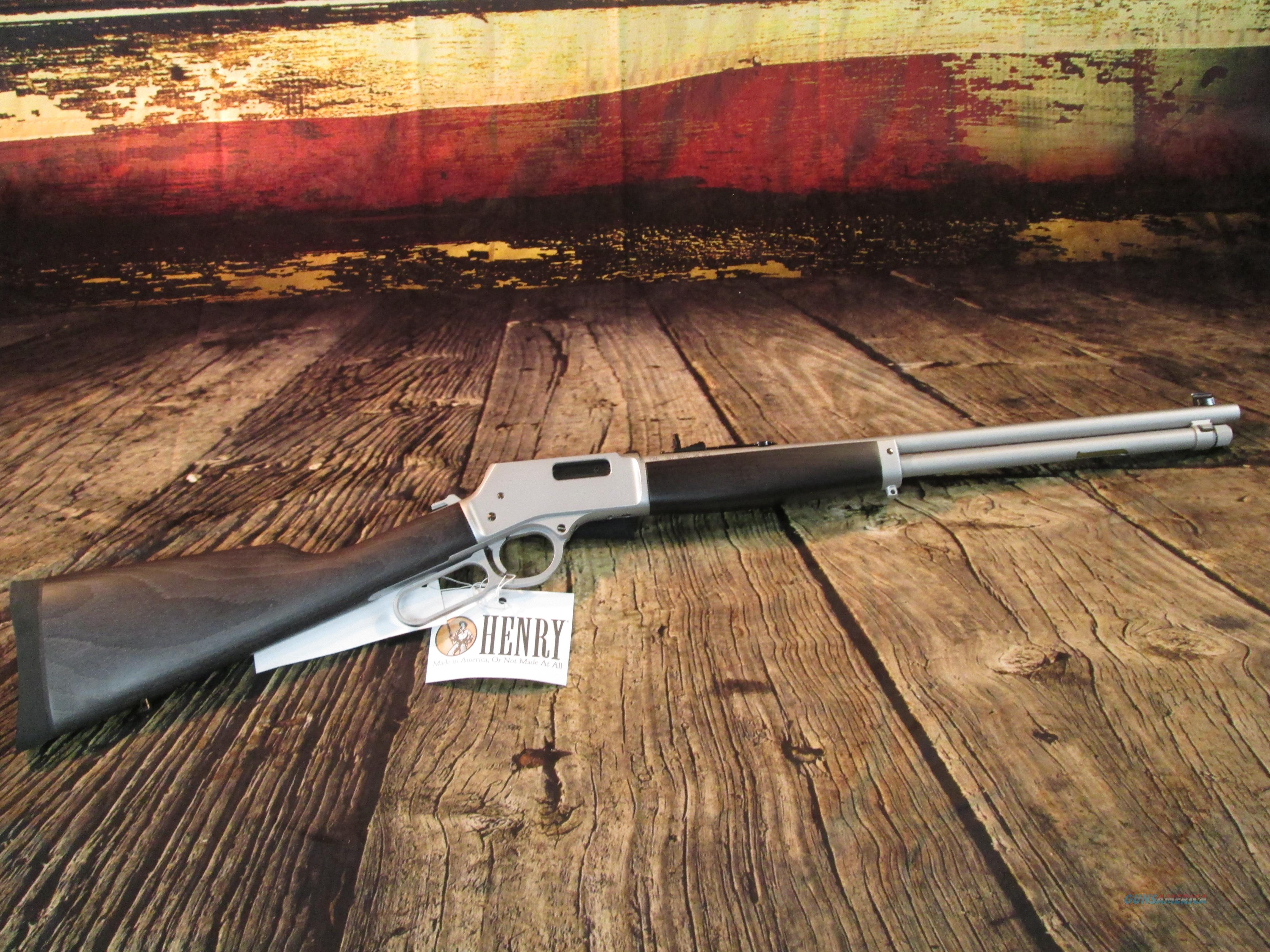 "HENRY ALL WEATHER .357 MAG/.38 SPL  20"" (H012MAW)   Guns > Rifles > Henry Rifle Company"