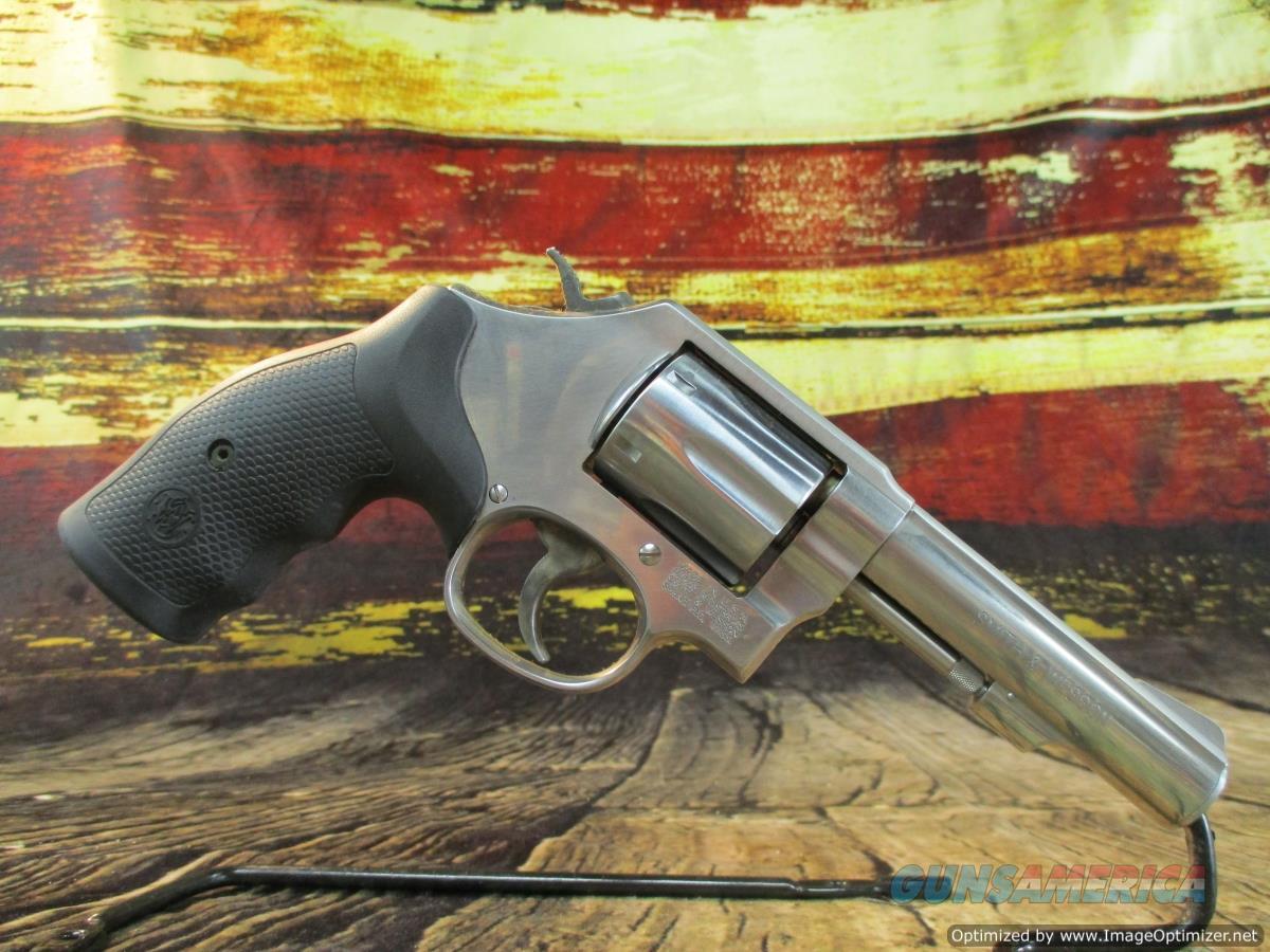 "Smith & Wesson 38 Spl+P Model 64 Stainless 4"" New (162506)  Guns > Pistols > Smith & Wesson Revolvers > Med. Frame ( K/L )"