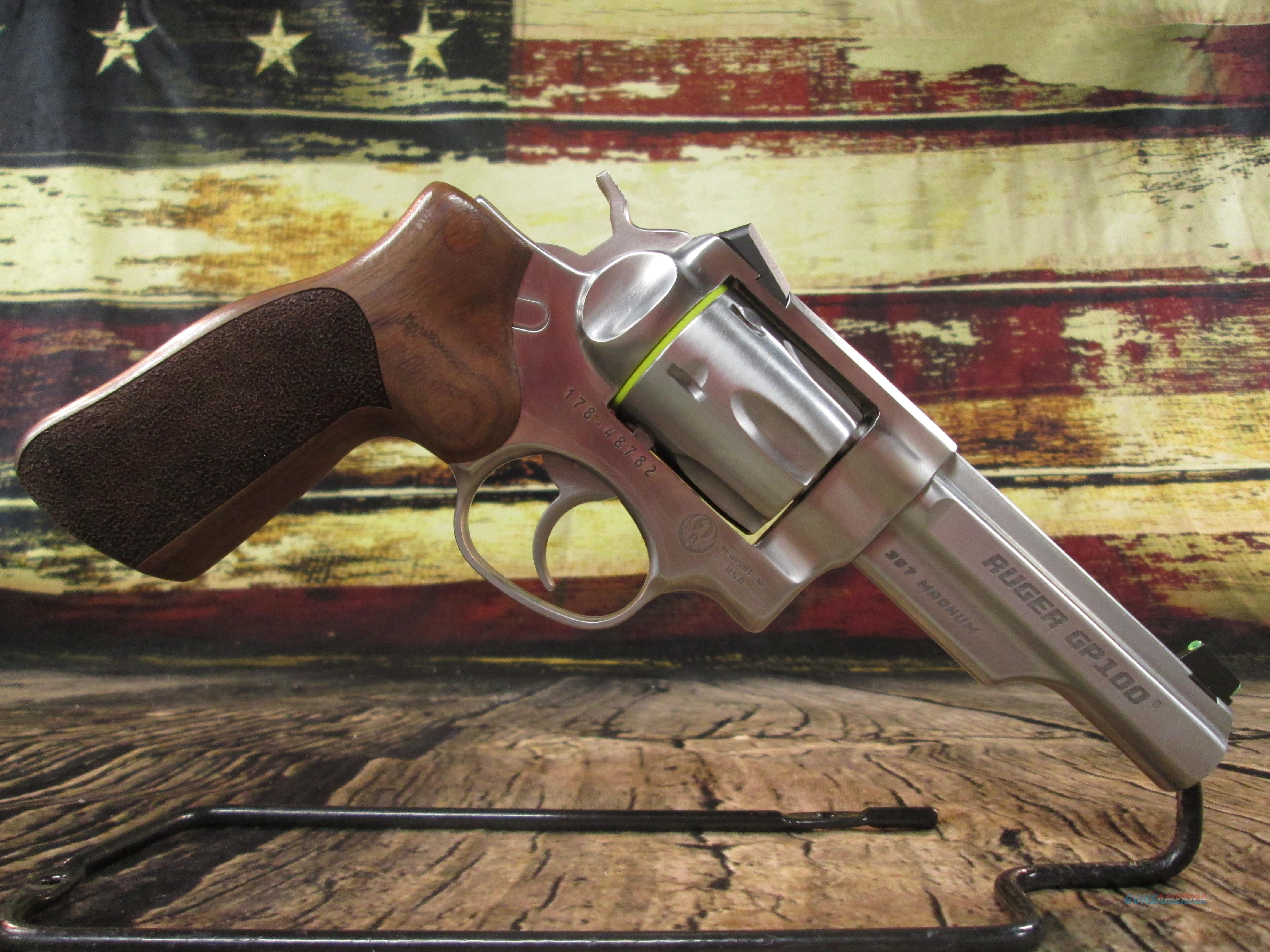 """Ruger GP100 Match Champion 4.2"""" 357 Mag New (01754)  Guns > Pistols > Ruger Double Action Revolver > GP100"""