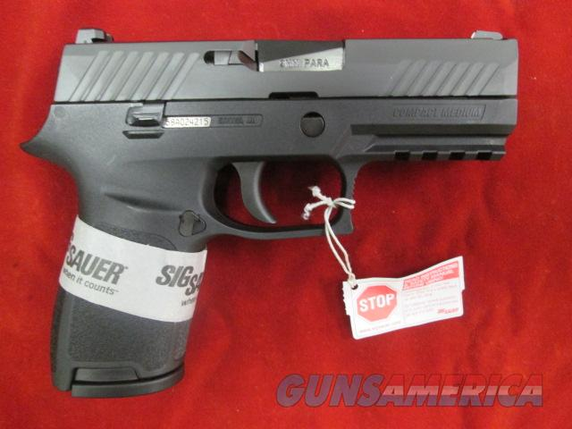 "SIG SAUER P320 COMPACT 3.9"" 9MM STRIKER FIRED PISTOL NEW (320C-9-B)   {{ FACTORY MAIL IN REBATE OFFER }}  Guns > Pistols > Sig - Sauer/Sigarms Pistols > P320"