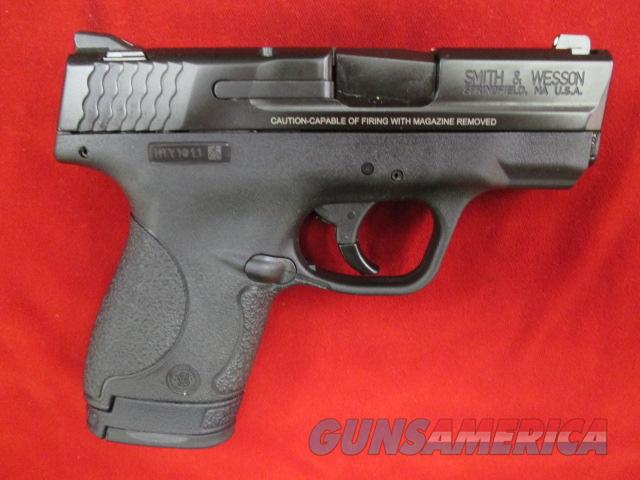 SMITH AND WESSON SHIELD 9MM W/NO MANUAL SAFETY NEW   (10035)   Guns > Pistols > Smith & Wesson Pistols - Autos > Alloy Frame