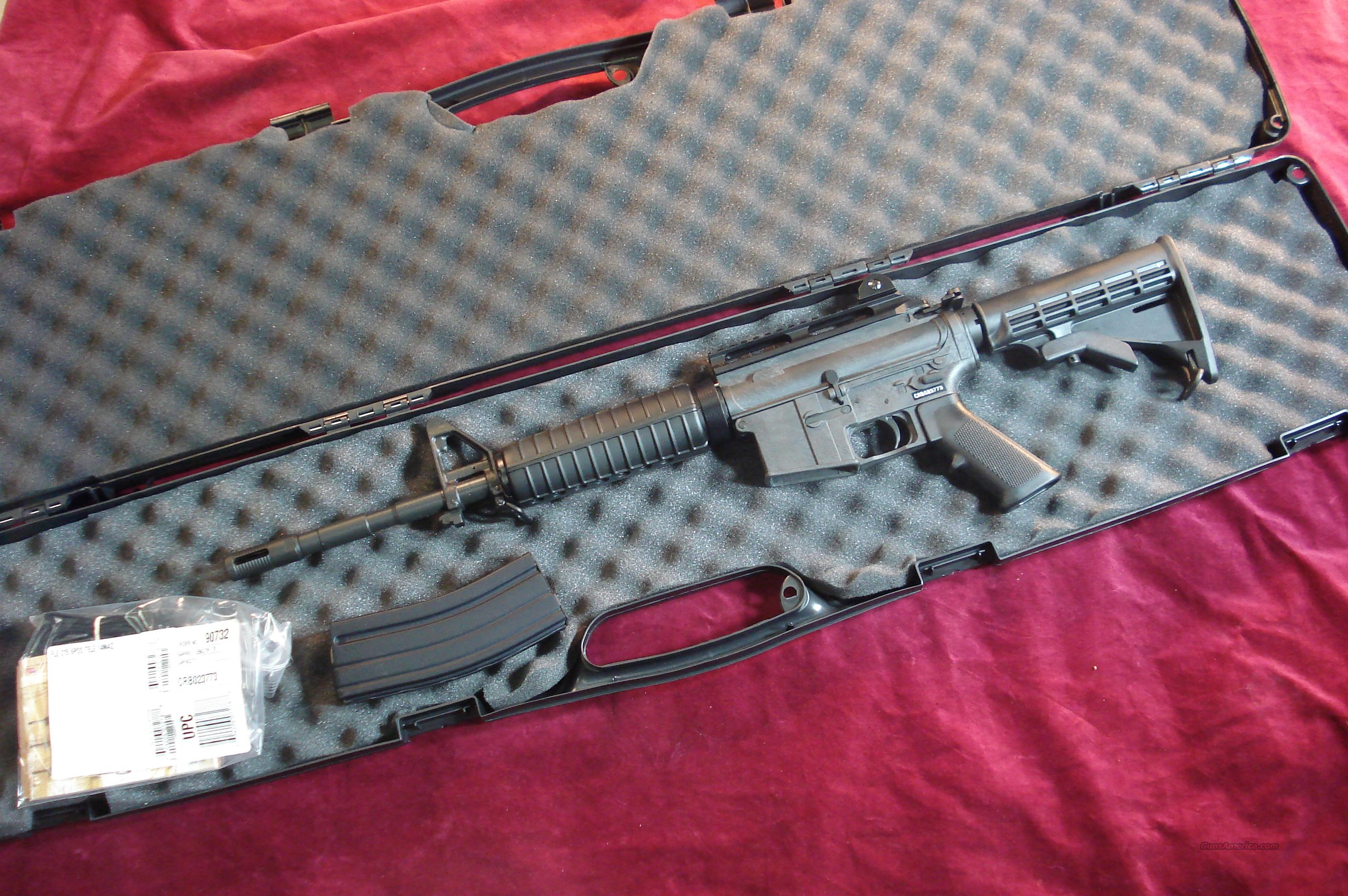 BUSHMASTER CARBON 15 5.56/223CAL. WITH  RAISED RAIL AND REAR SIGHT NEW  Guns > Rifles > Bushmaster Rifles > Complete Rifles