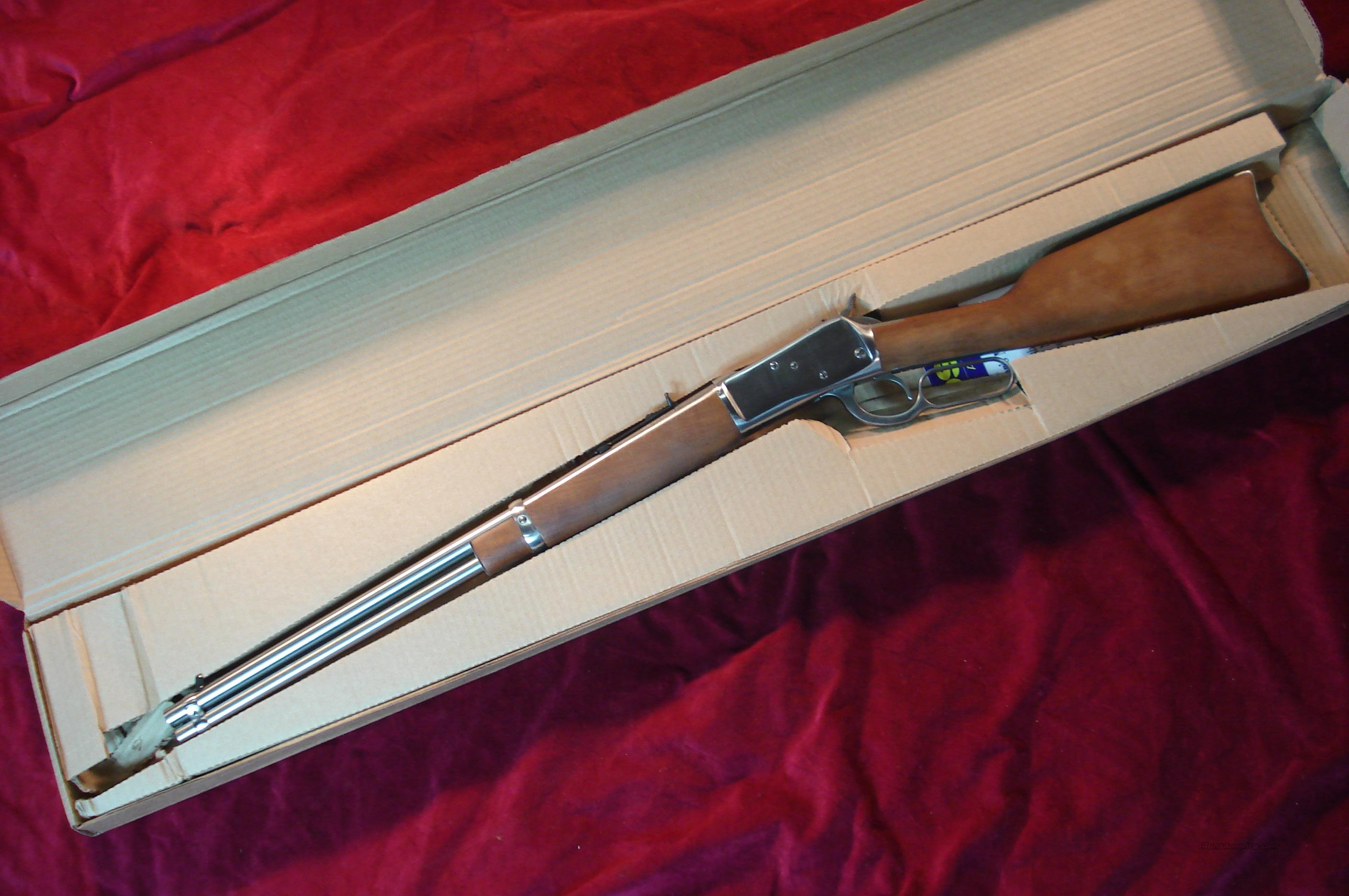 ROSSI STAINLESS 92 LEVER ACTION 357 CAL. NEW  Guns > Rifles > Rossi Rifles > Cowboy