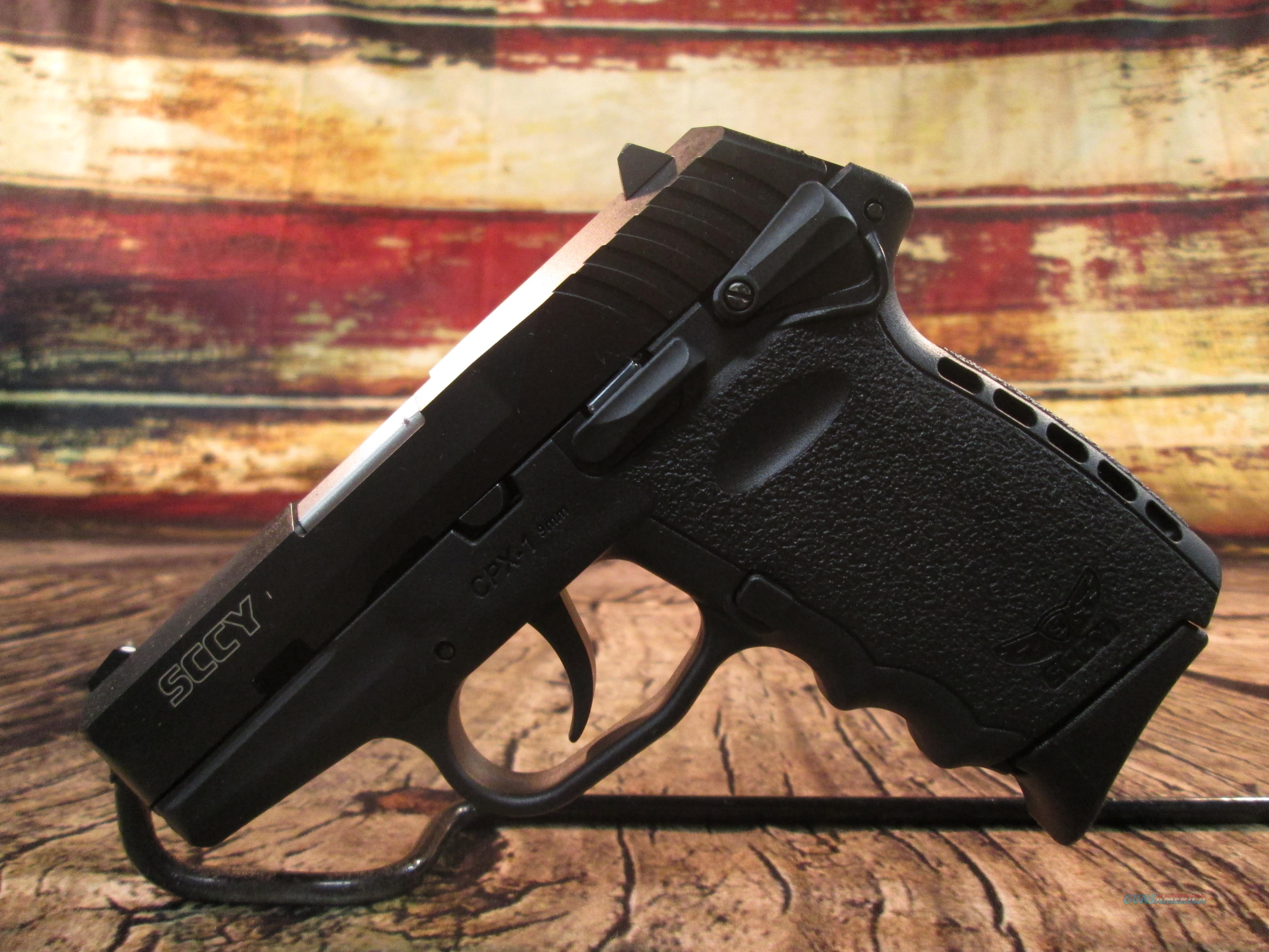 SCCY CPX-1 CARBON 9MM NEW **Factory Rebate Offer** (CPX1CB)  Guns > Pistols > SCCY Pistols > CPX1
