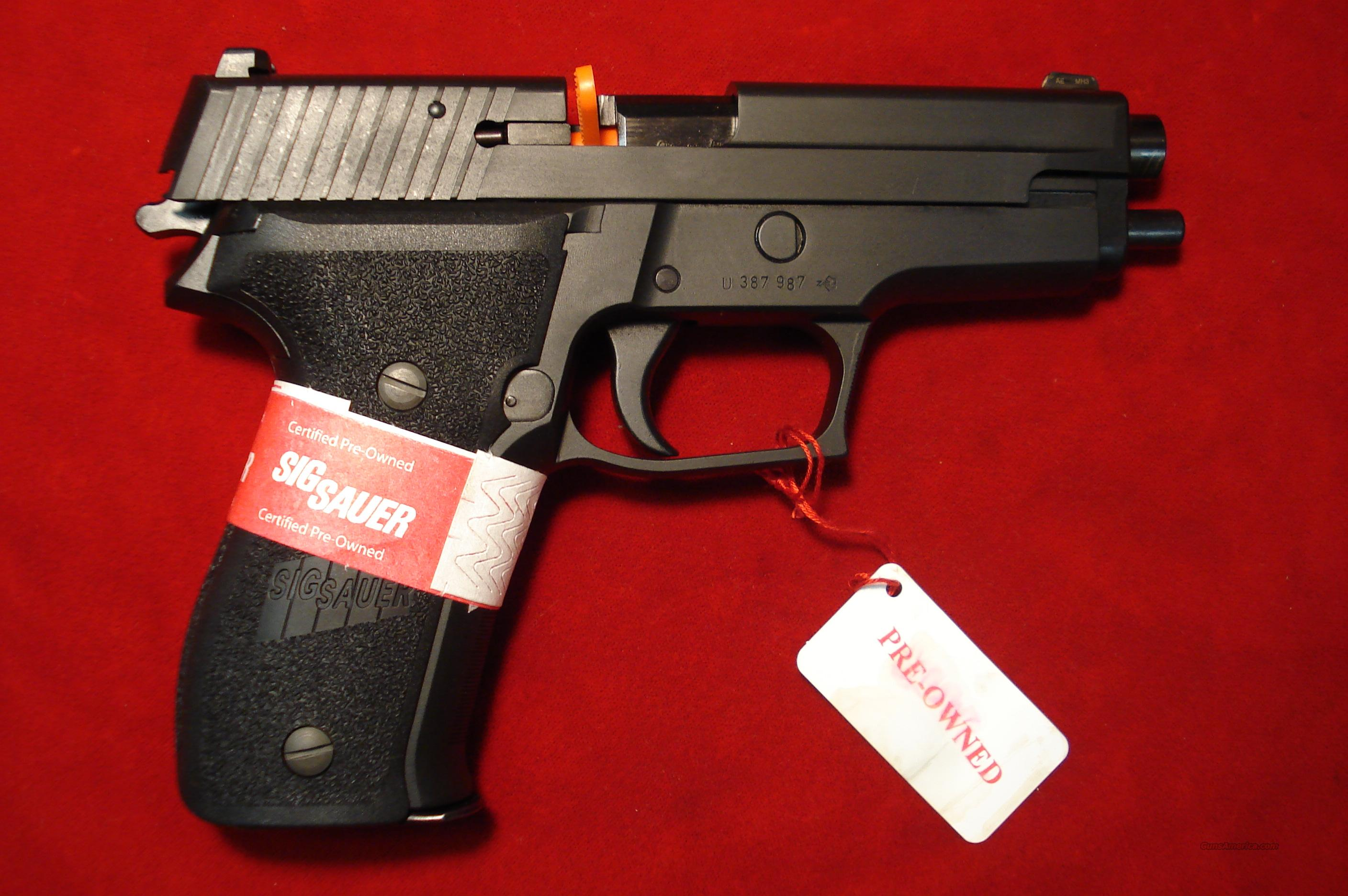 SIG SAUER P226 9MM CERTIFIED PREOWNED  Guns > Pistols > Sig - Sauer/Sigarms Pistols > P226