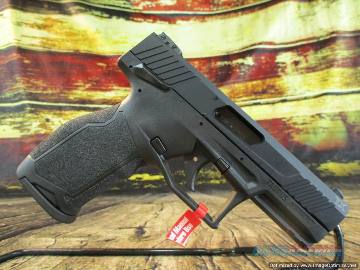 "Taurus TX22 22lr 4.1"" Black 16+1 NEW (1-TX22141) $$ FACTORY REBATE OFFER $$  Guns > Pistols > Taurus Pistols > Semi Auto Pistols > Polymer Frame"