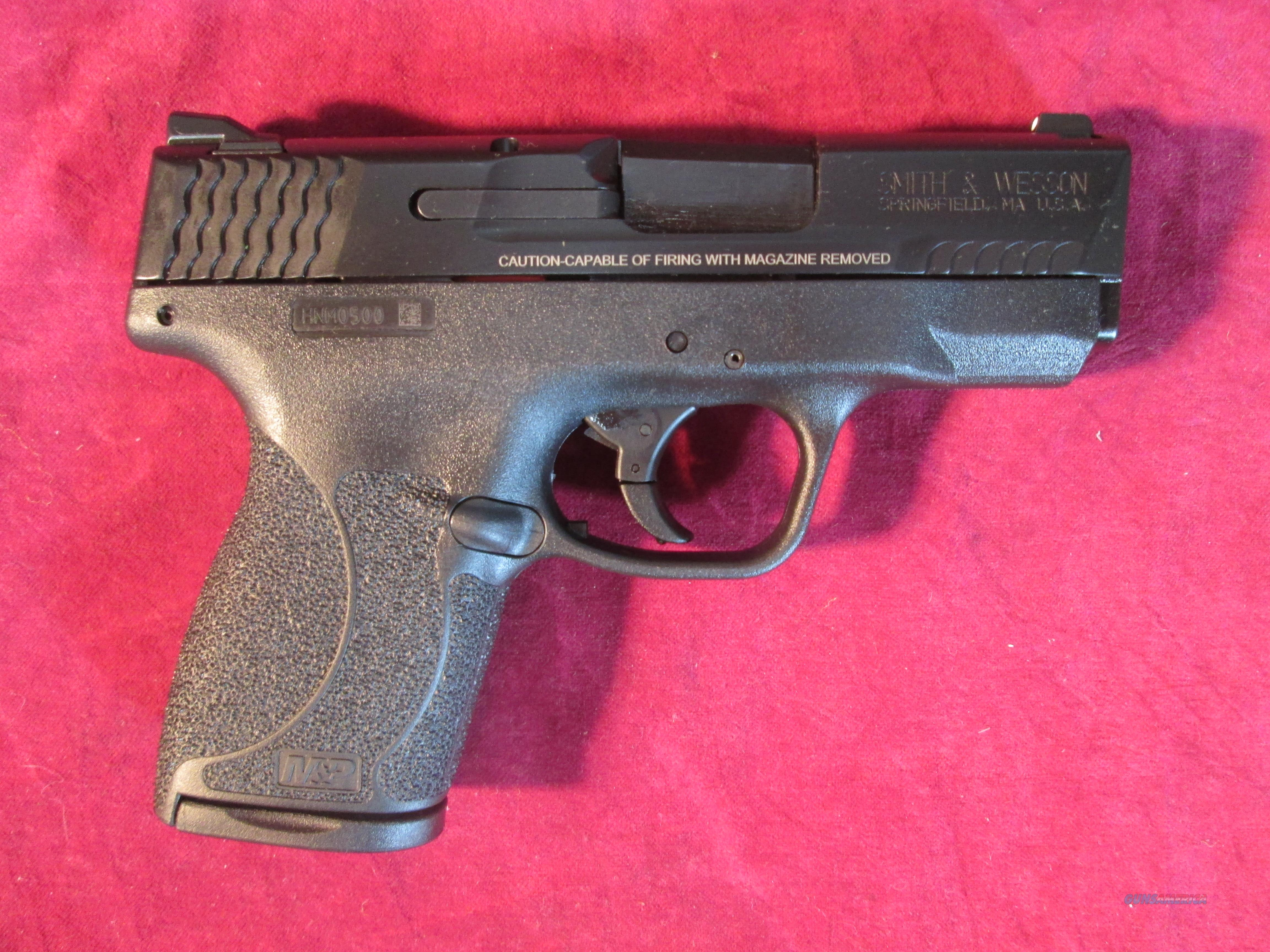 SMITH AND WESSON M&P SHIELD 45ACP W/ SAFETY NEW (180022)   Guns > Pistols > Smith & Wesson Pistols - Autos > Shield