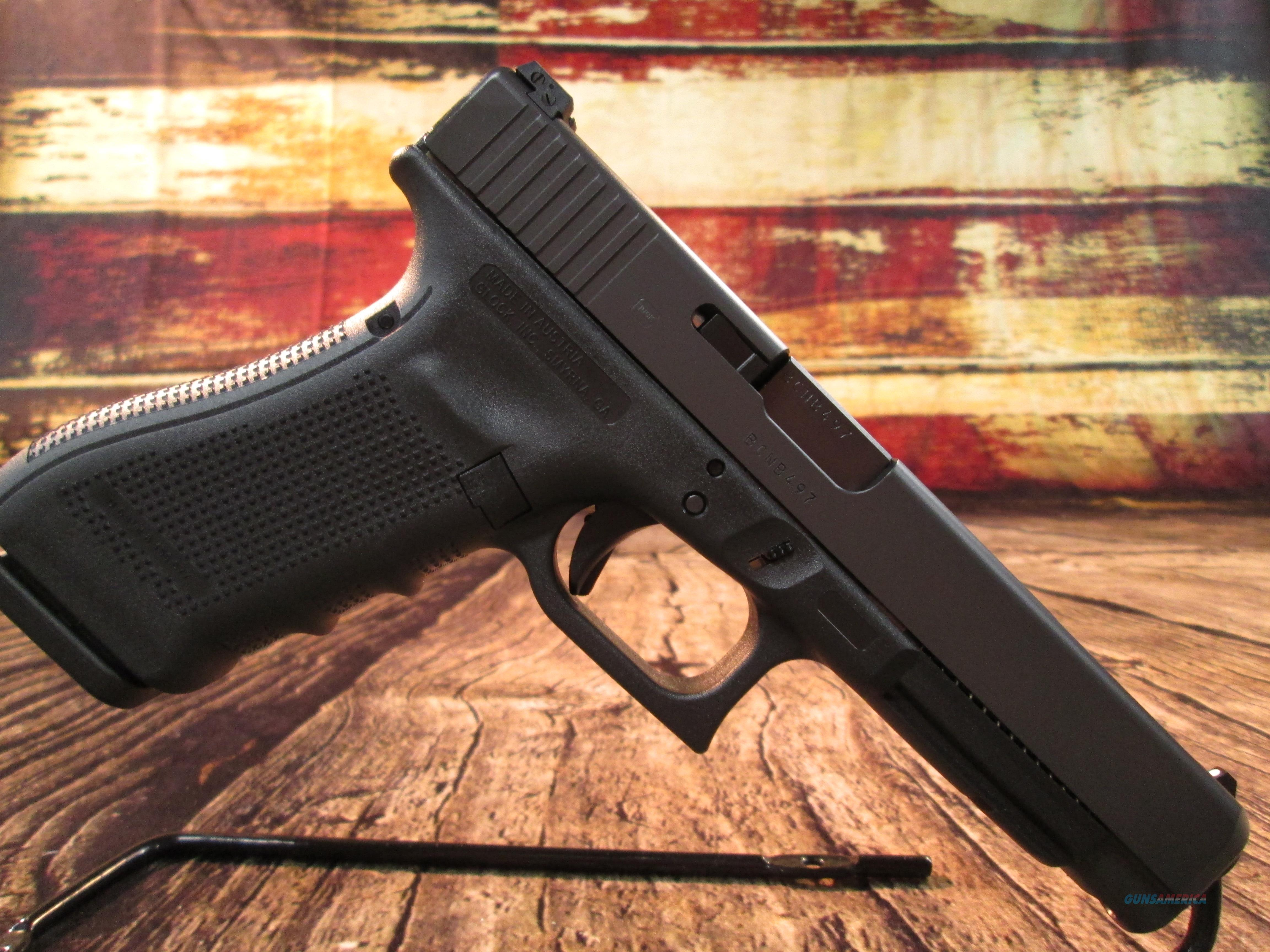 GLOCK MODEL 34 GEN 4 9MM TACTICAL PRACTICAL W/THREE 17 RND MAGS NEW (PG3430103)  Guns > Pistols > Glock Pistols > 34