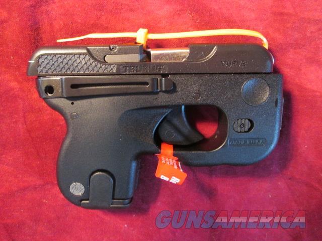 TAURUS CURVE 380 W/ LASER AND LIGHT NEW  ( 1-180031L )  Guns > Pistols > Taurus Pistols > Semi Auto Pistols > Polymer Frame