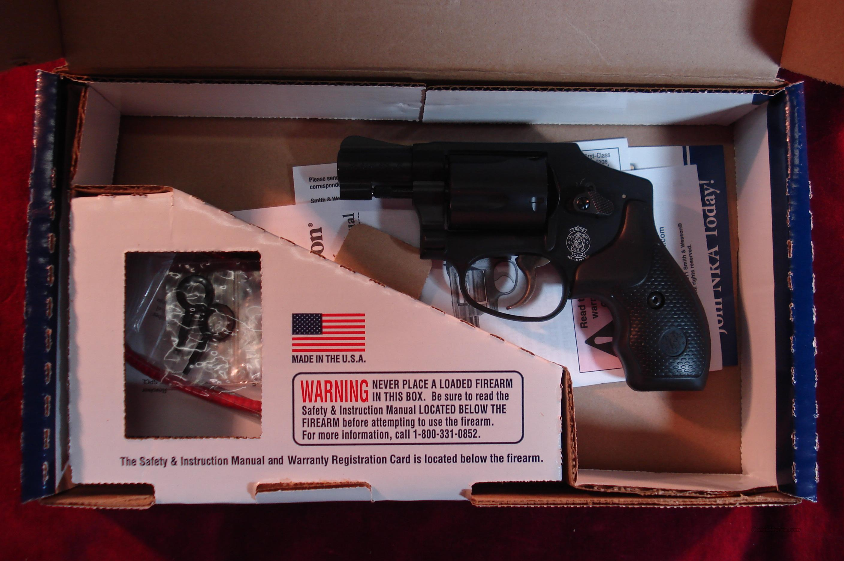 SMITH AND WESSON 442 38 SPECIAL NEW (162810)   Guns > Pistols > Smith & Wesson Revolvers > Pocket Pistols