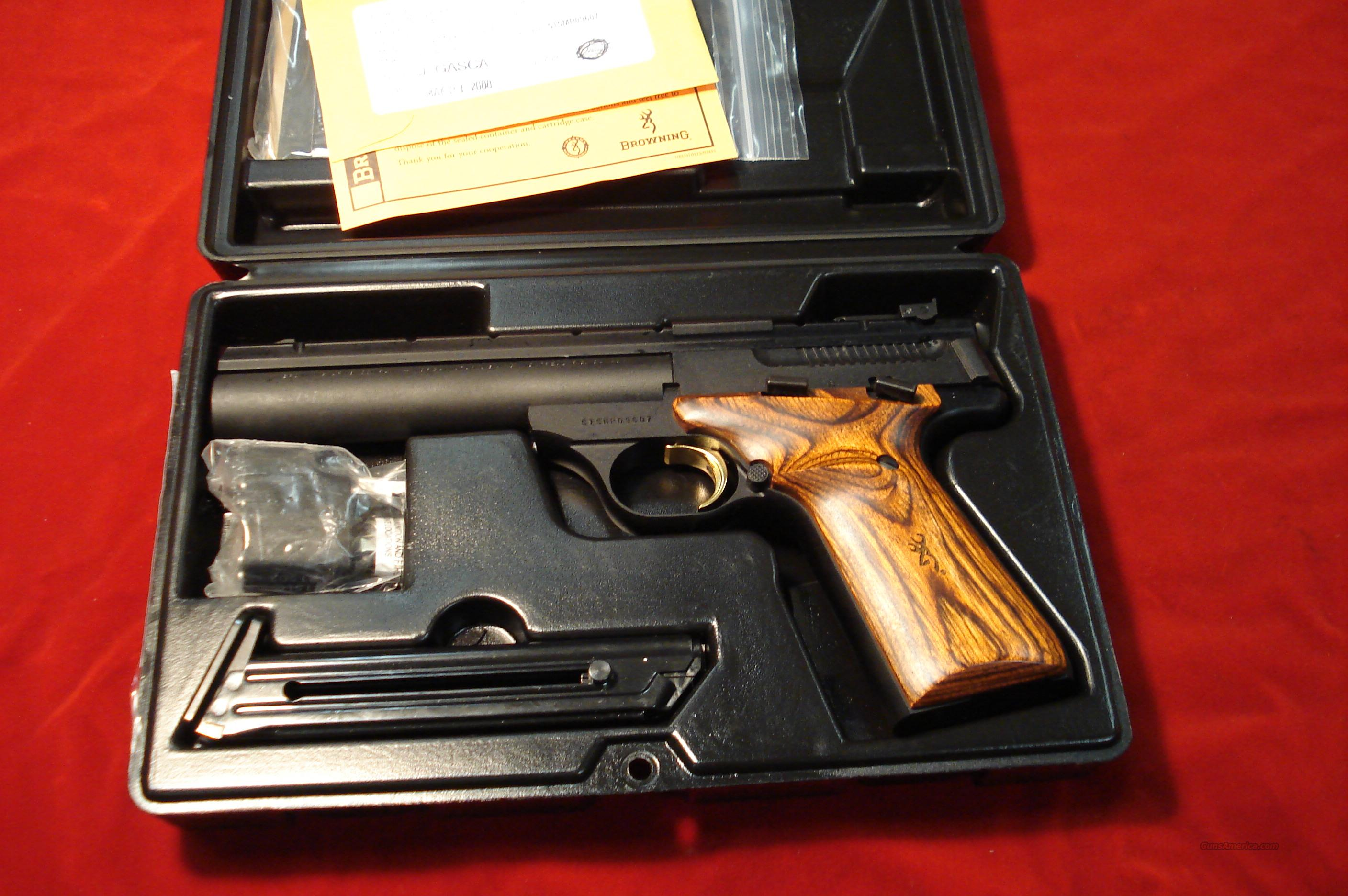 BROWNING BUCK MARK 5.5 FIELD COCOBOLO GRIP NEW   Guns > Pistols > Browning Pistols > Buckmark