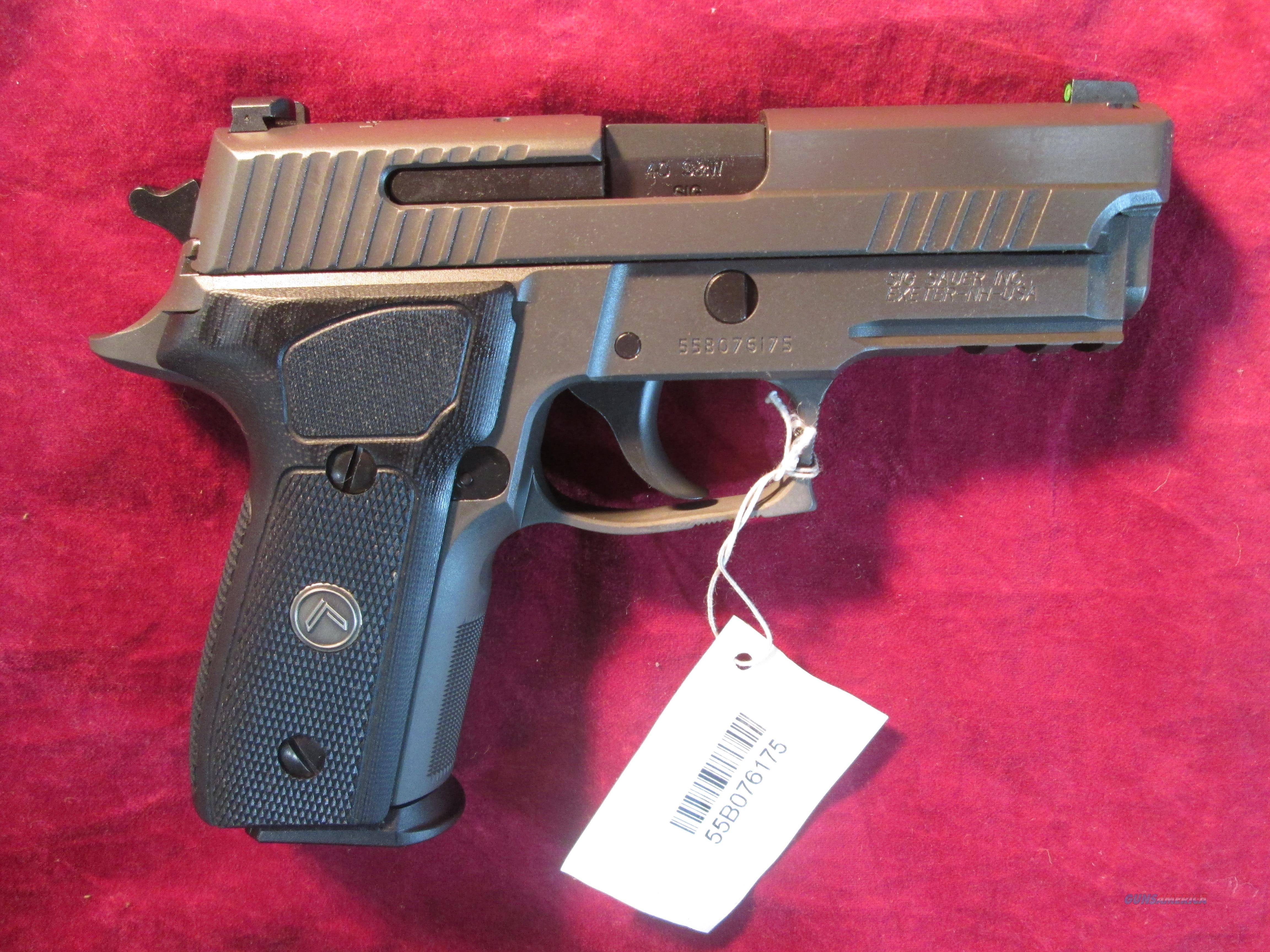 SIG SAUER P229 LEGION 40S&W NEW (E29R-40-LEGION)  Guns > Pistols > Sig - Sauer/Sigarms Pistols > P226