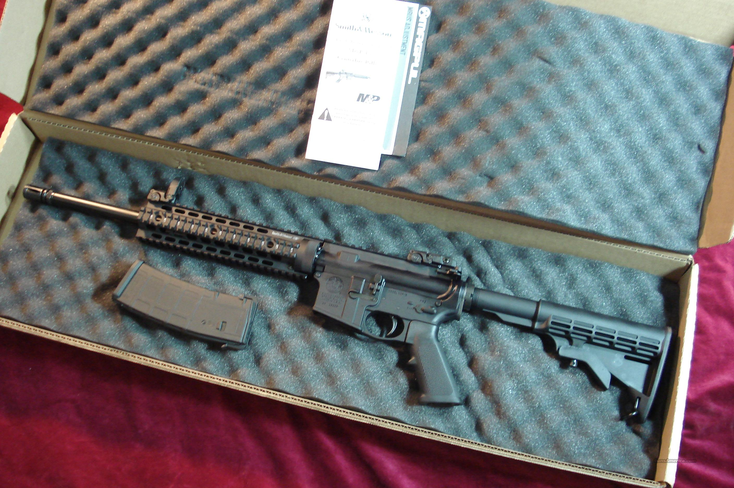 SMITH AND WESSON M&P 15T (TACTICAL) NEW   Guns > Rifles > Smith & Wesson Rifles > M&P