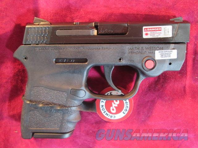 SMITH AND WESSON BODYGUARD W/ CRIMSON TRACE LASER AND NO SAFETY NEW   (10265)  Guns > Pistols > Smith & Wesson Pistols - Autos > Polymer Frame