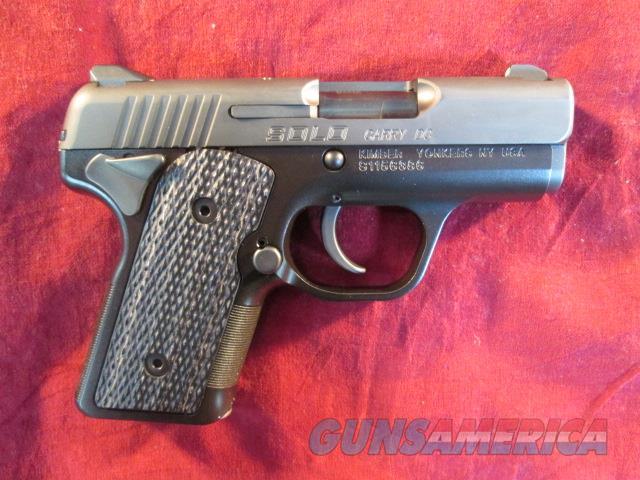 KIMBER SOLO CARRY DC W/ NIGHT SIGHTS USED  Guns > Pistols > Kimber of America Pistols